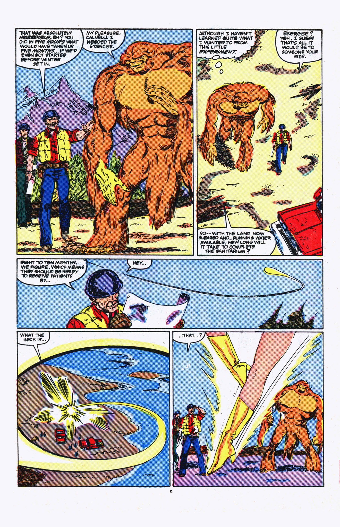 Read online Alpha Flight (1983) comic -  Issue #20 - 5