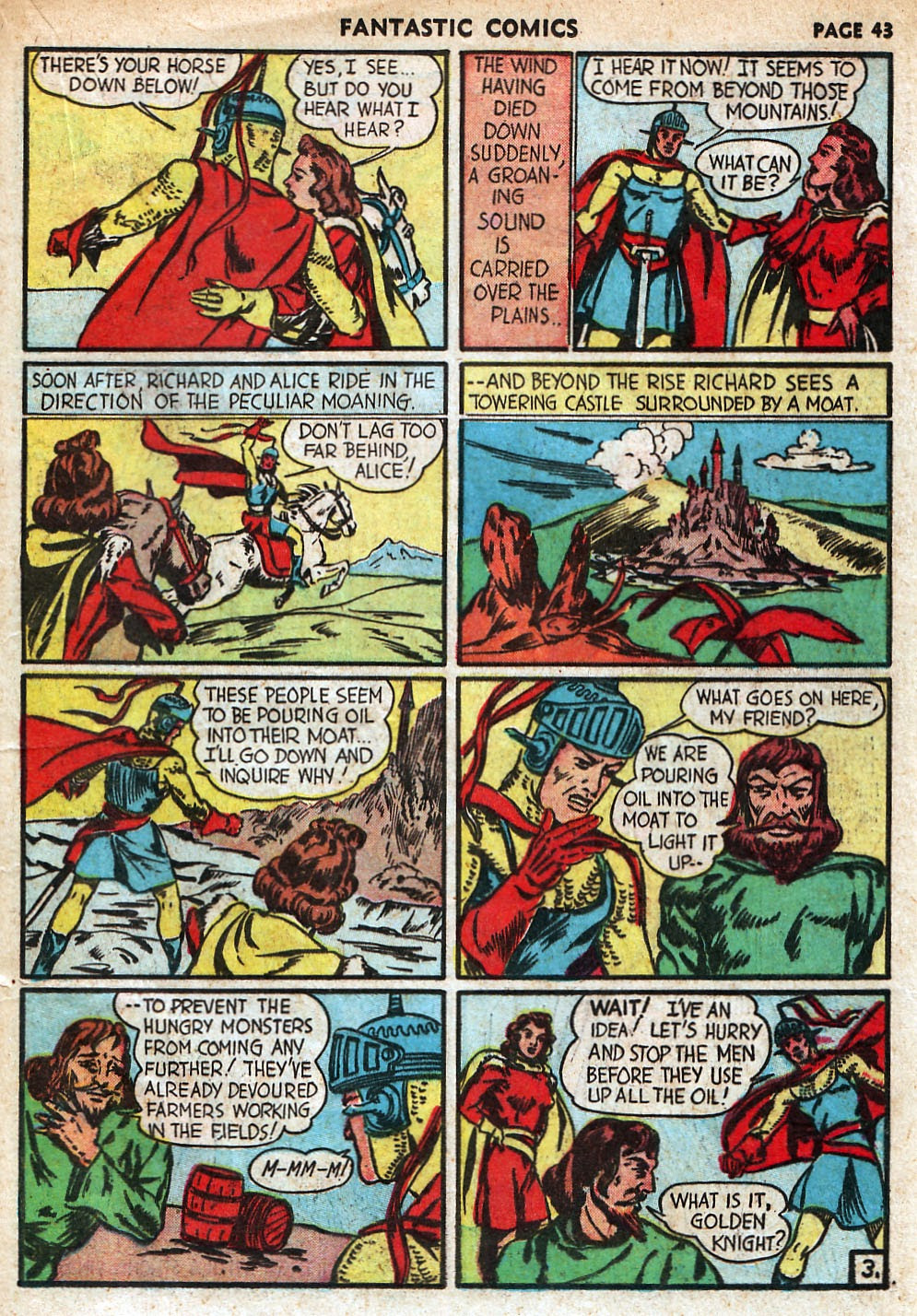 Read online Fantastic Comics comic -  Issue #18 - 45