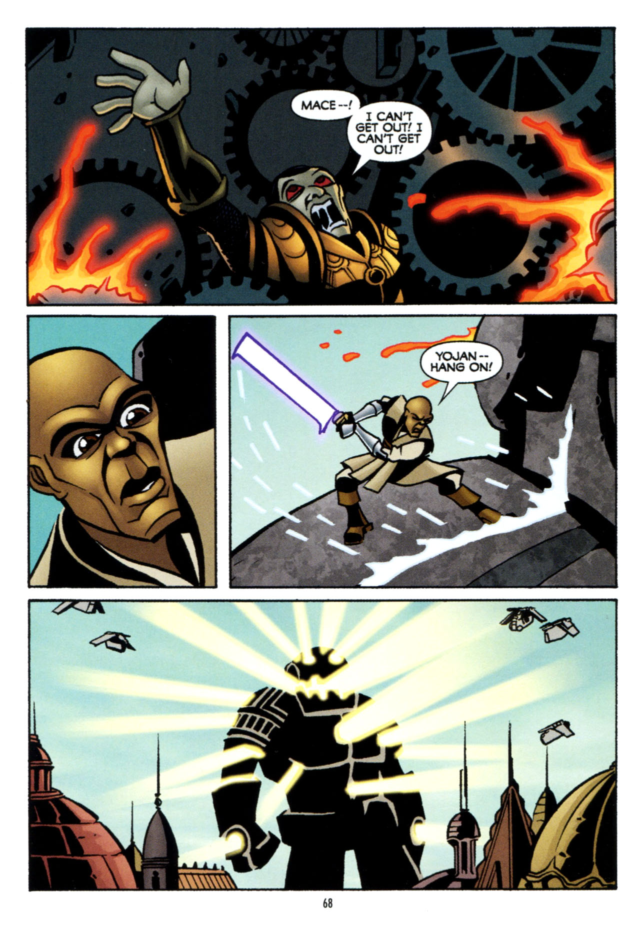 Read online Star Wars: The Clone Wars - The Colossus of Destiny comic -  Issue # Full - 68