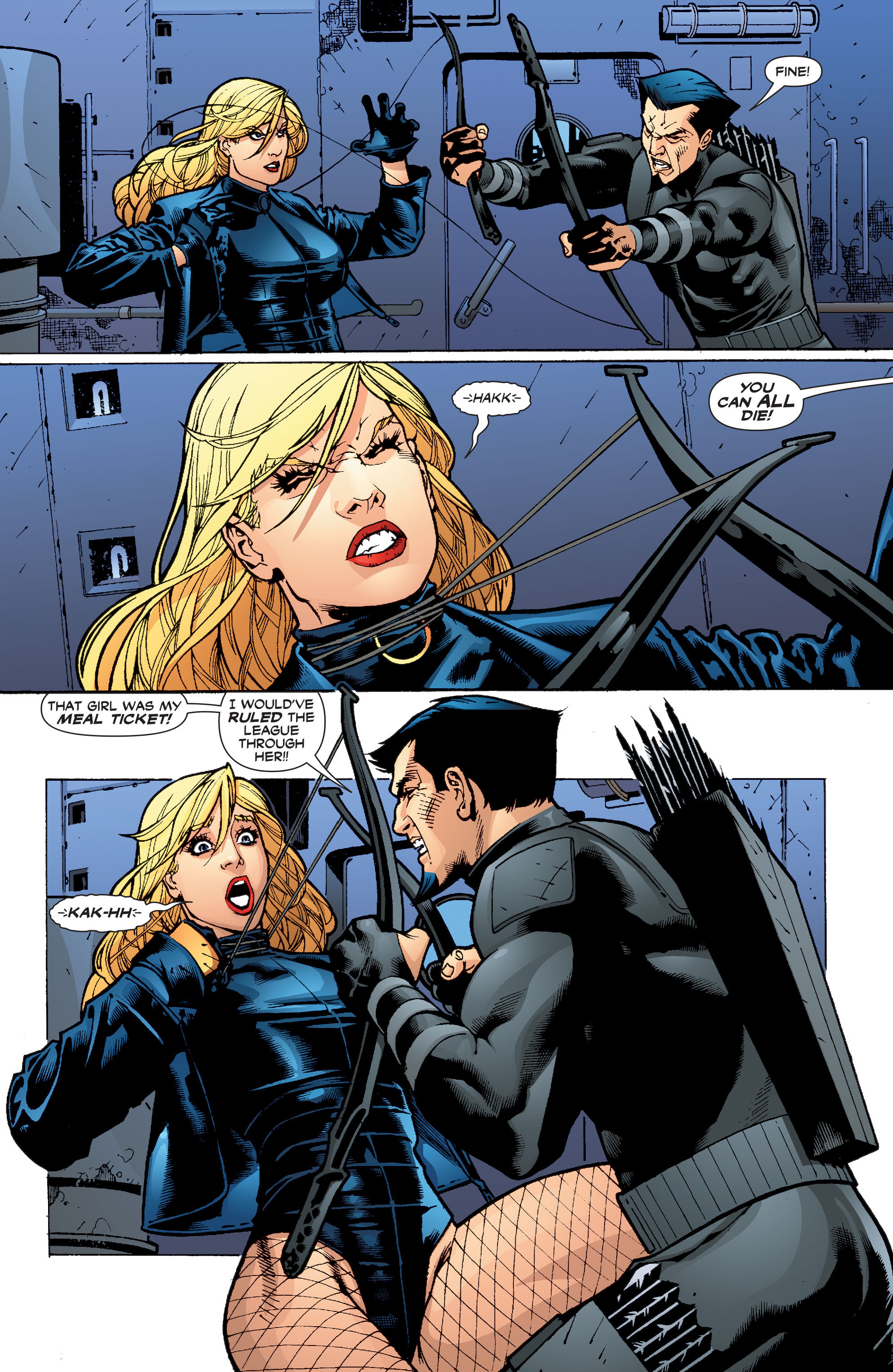 Read online Black Canary (2007) comic -  Issue #4 - 10