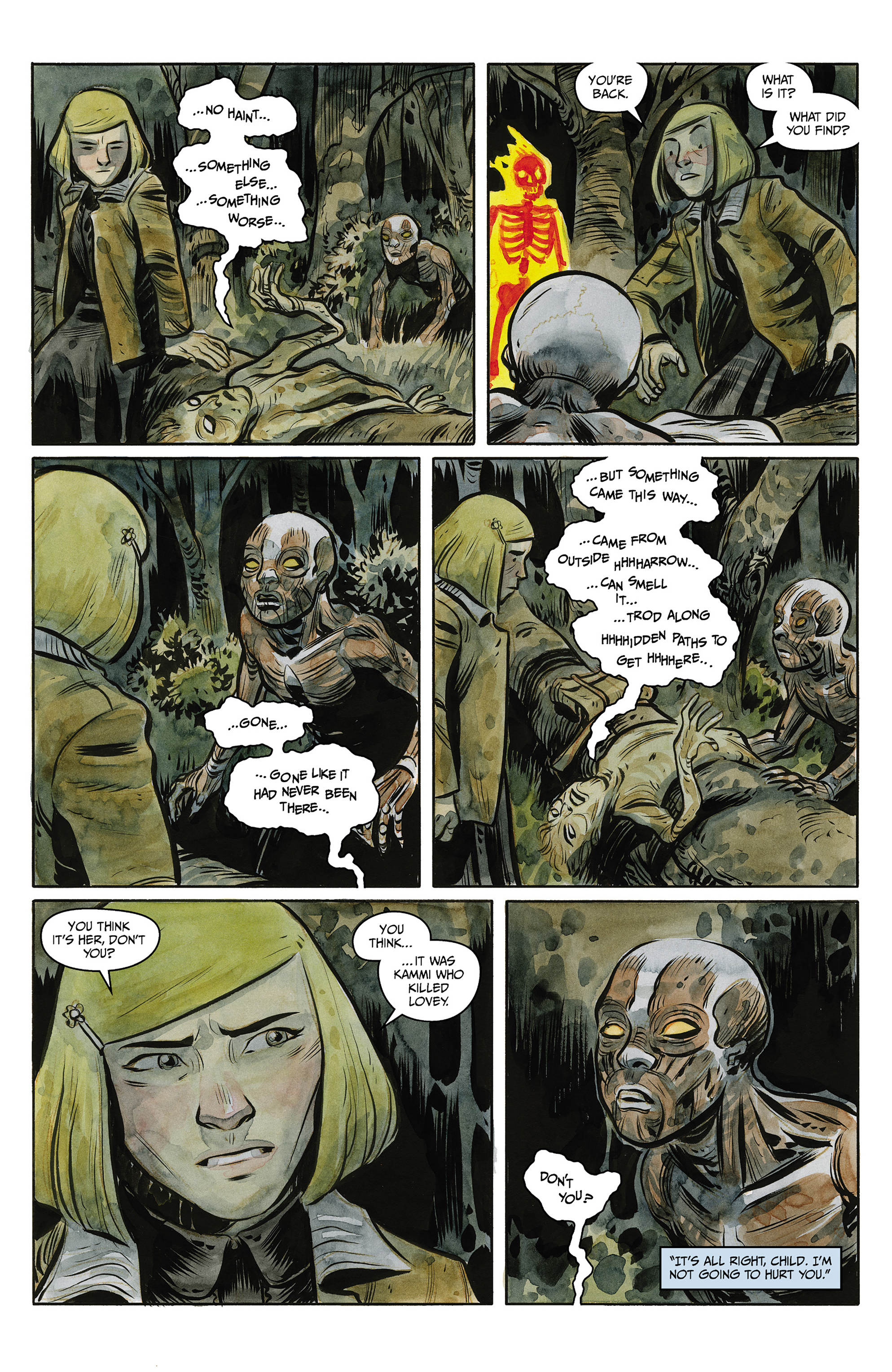 Read online Harrow County comic -  Issue #23 - 21