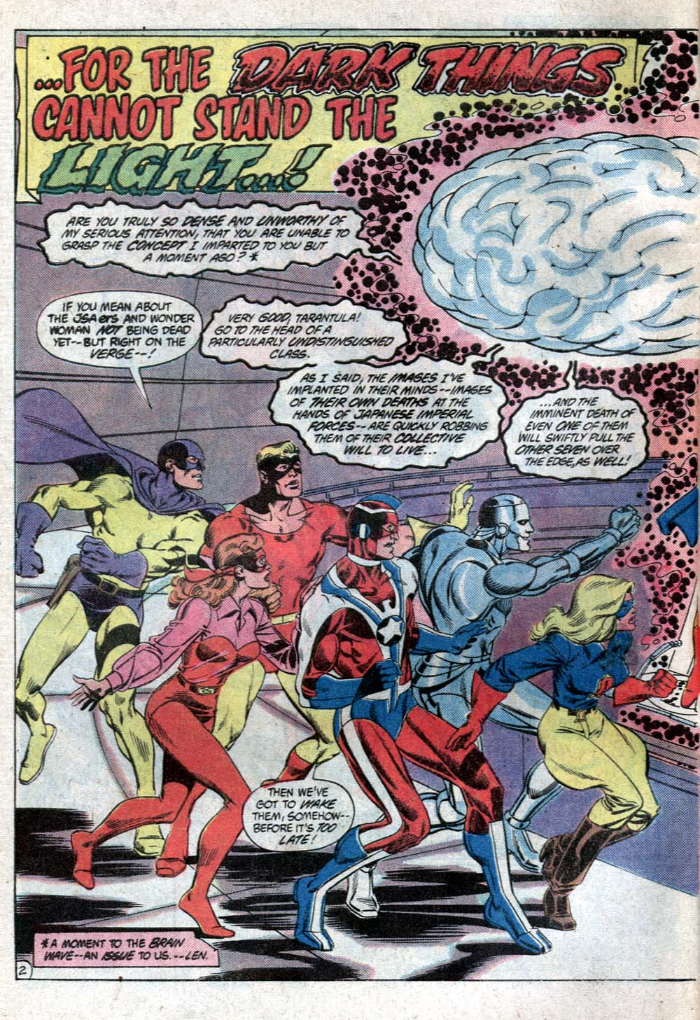 Read online All-Star Squadron comic -  Issue #20 - 3