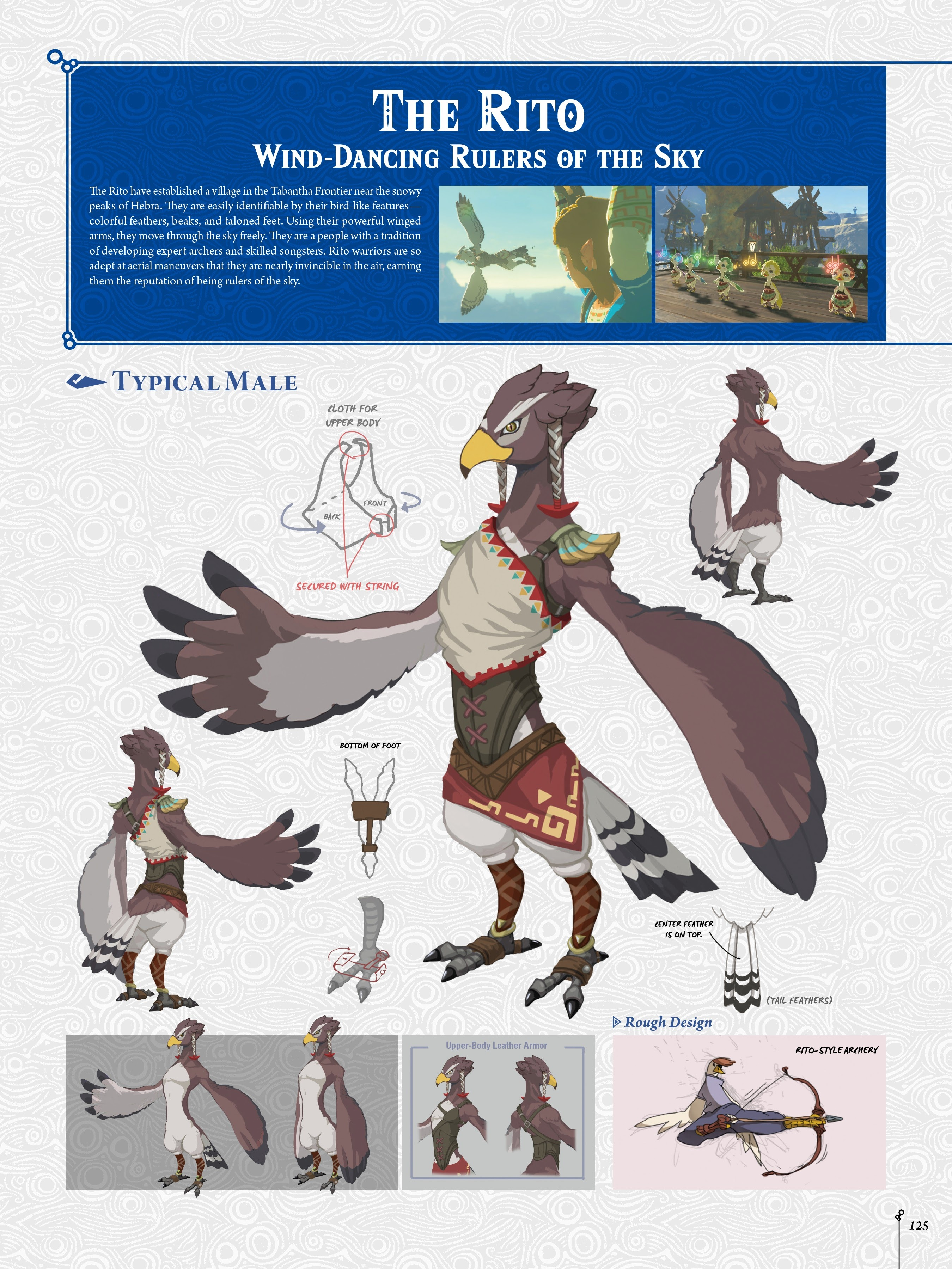 Let's take a moment to appreciate some of the character designs in Breath  of the Wild. | ResetEra