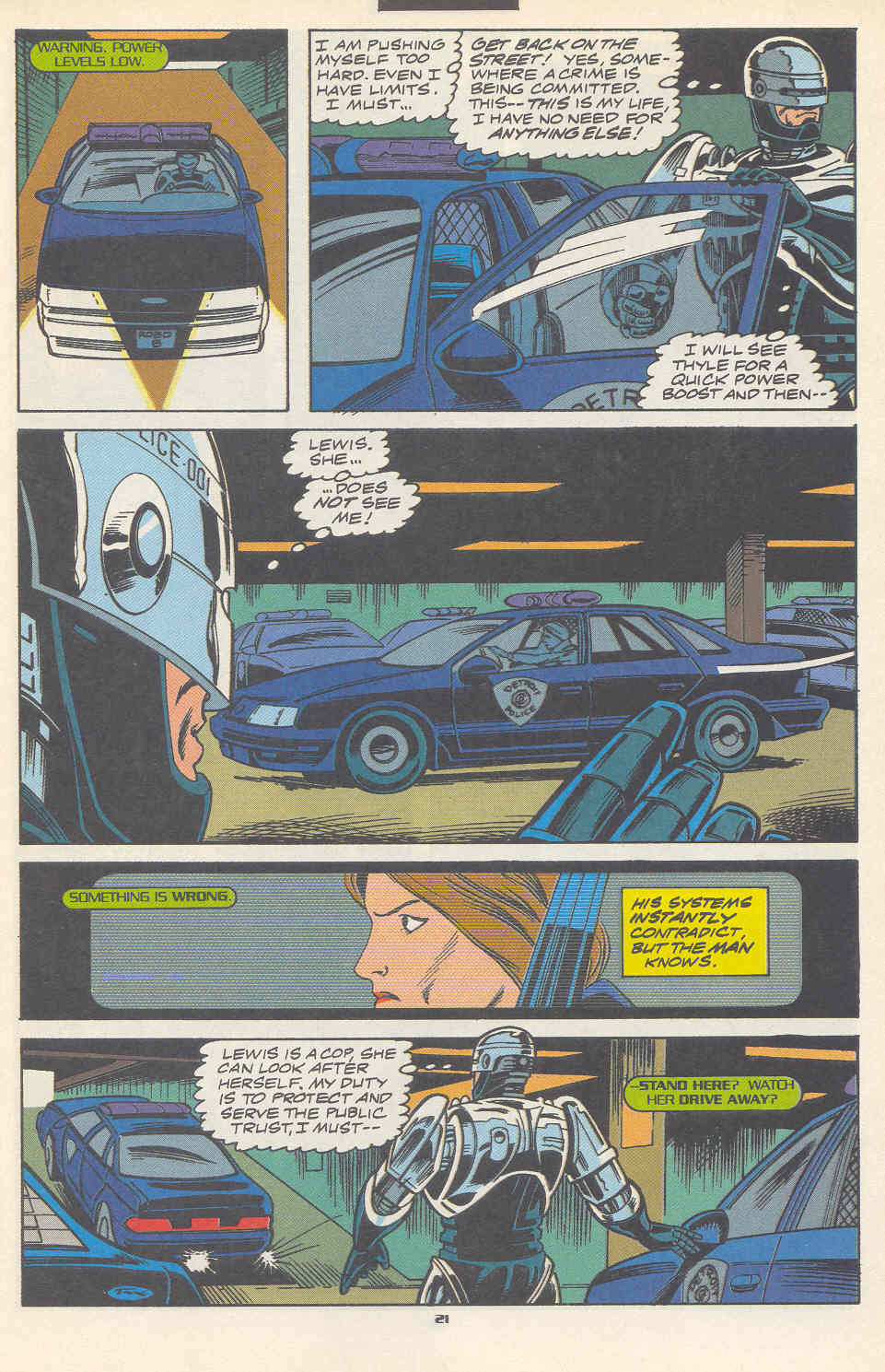 Read online Robocop (1990) comic -  Issue #17 - 16