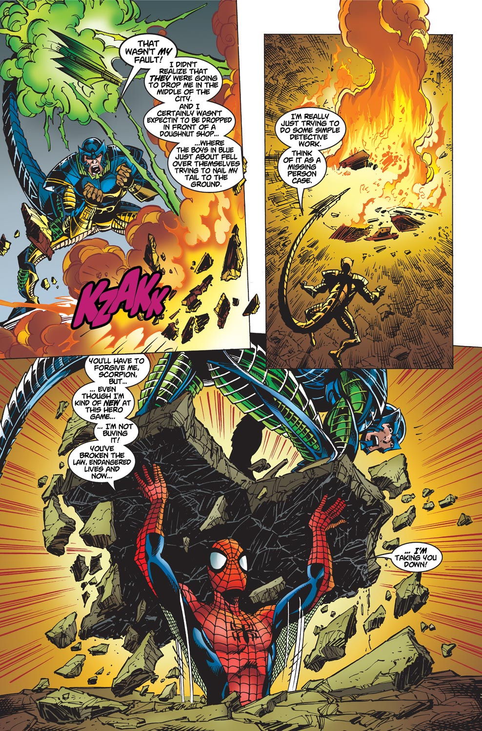 The Amazing Spider-Man (1999) 1 Page 17