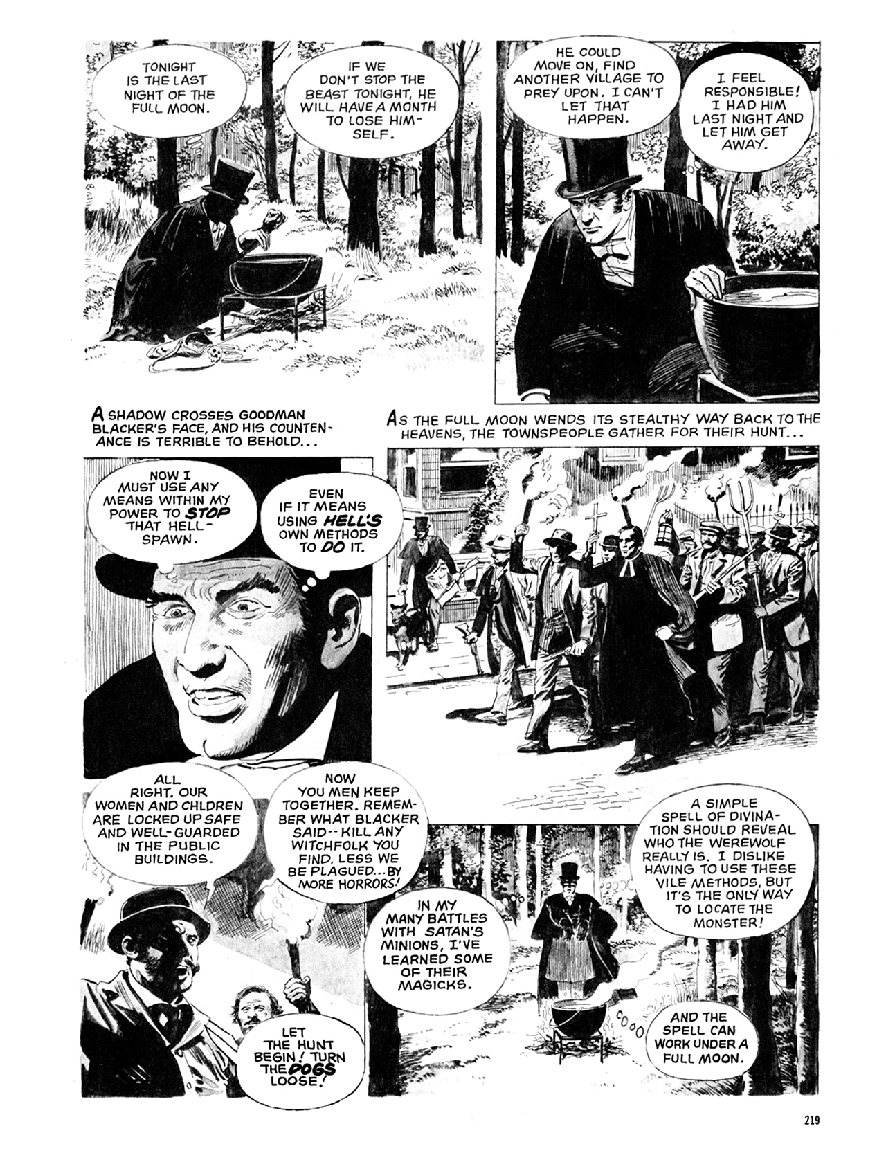 Read online Eerie Archives comic -  Issue # TPB 10 - 220