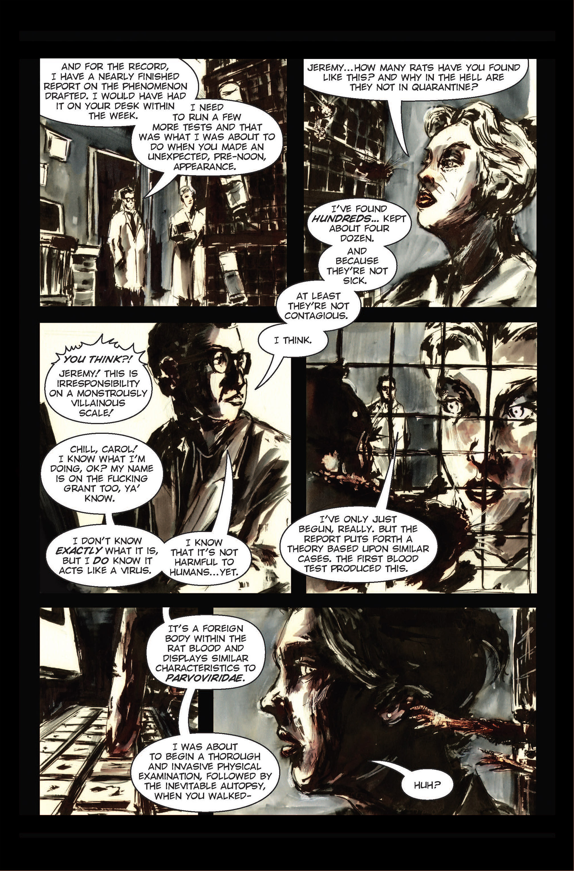 Read online The Final Plague comic -  Issue #1 - 13