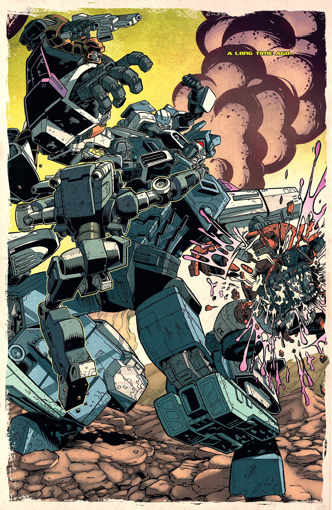 Read online Transformers: Last Stand of The Wreckers comic -  Issue #2 - 4