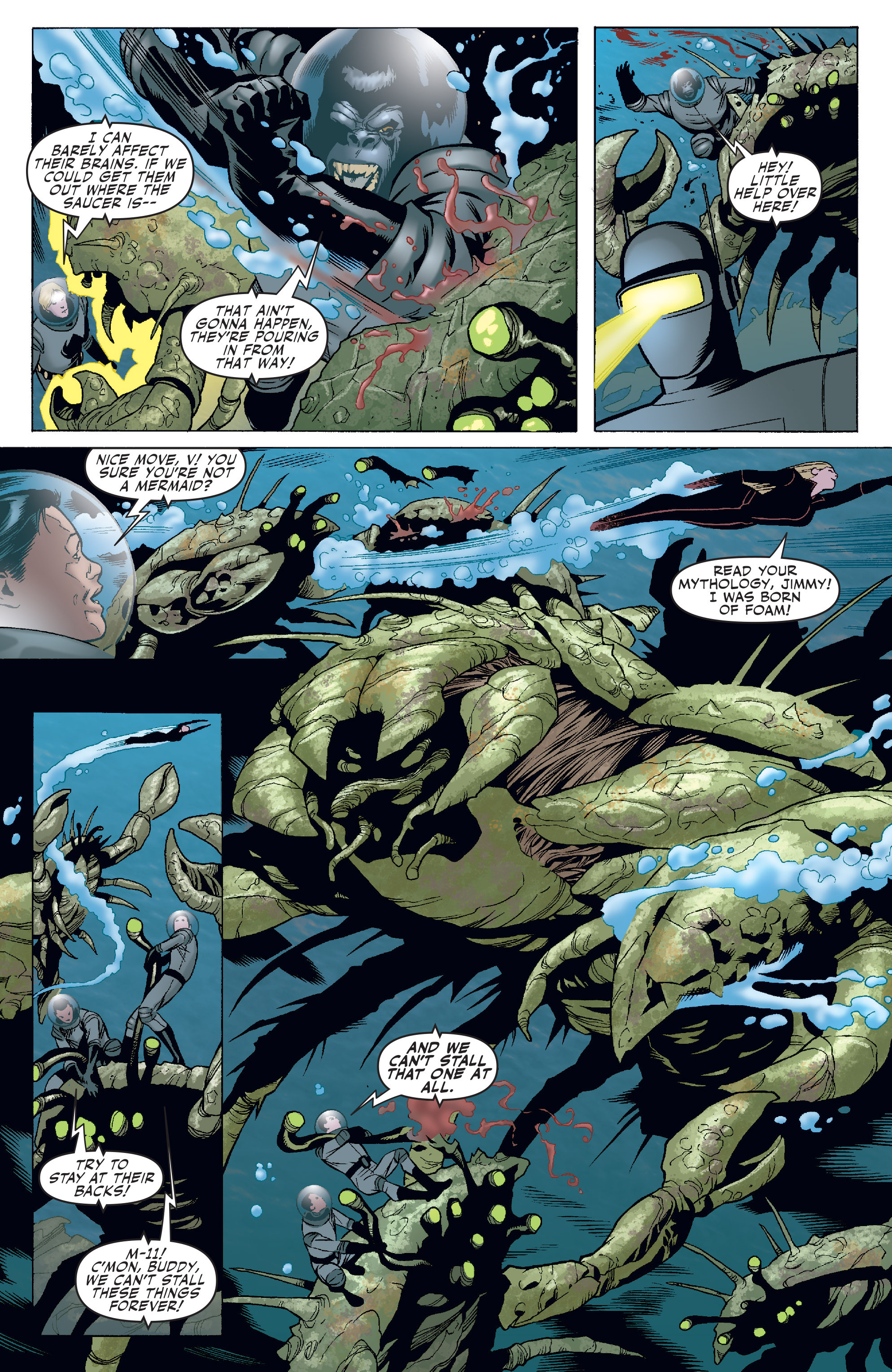Read online Agents Of Atlas (2006) comic -  Issue #4 - 6