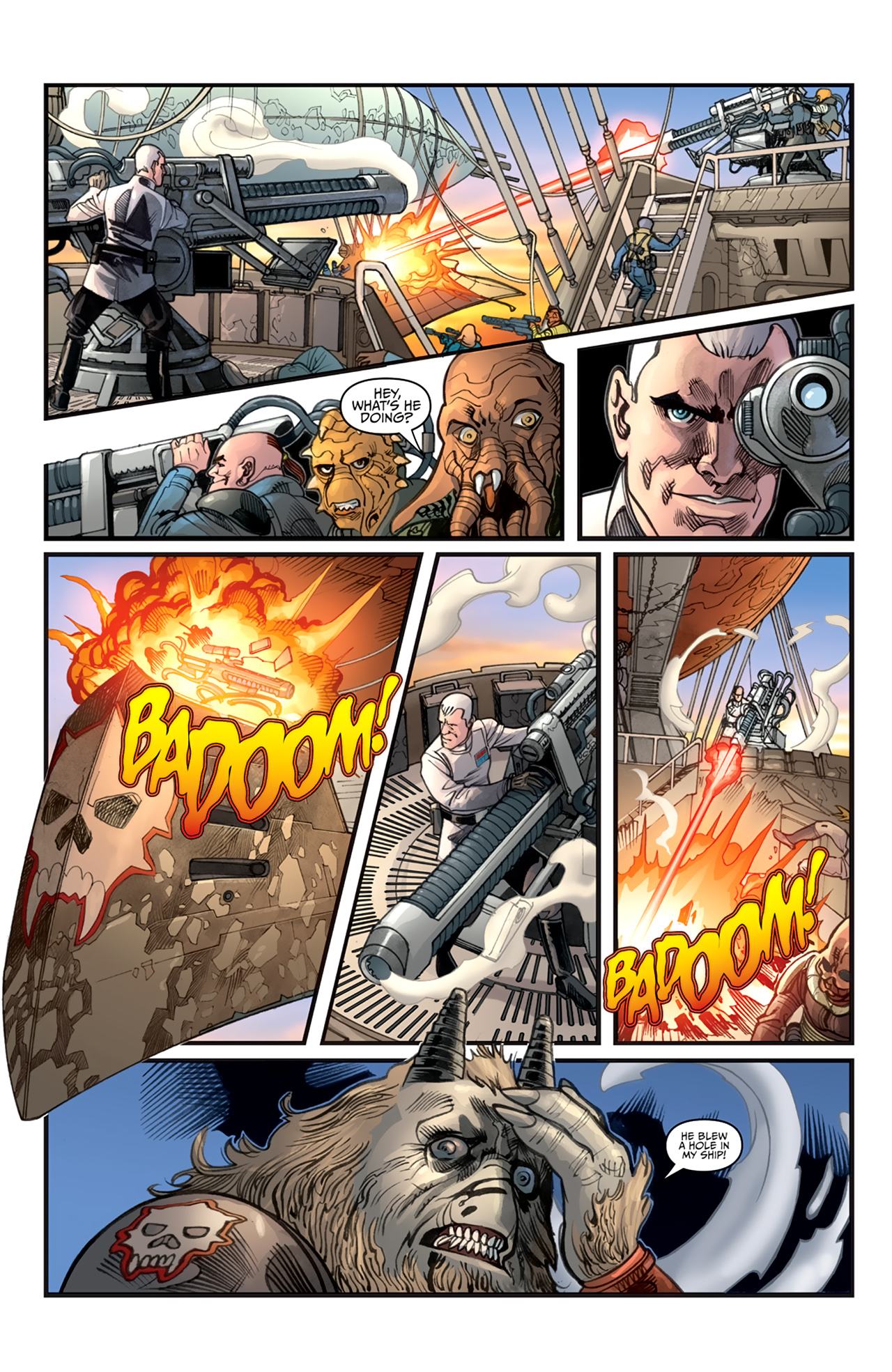 Read online Star Wars: Agent Of The Empire - Hard Targets comic -  Issue #2 - 22