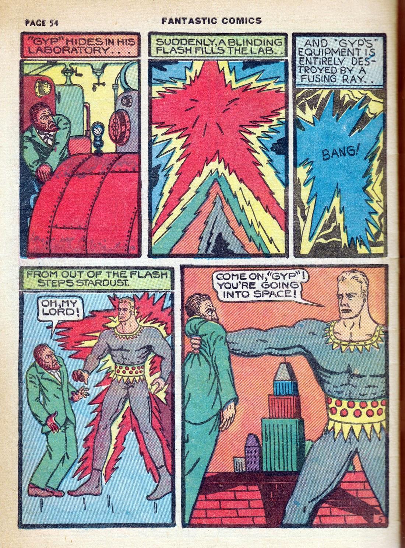 Read online Fantastic Comics comic -  Issue #7 - 56