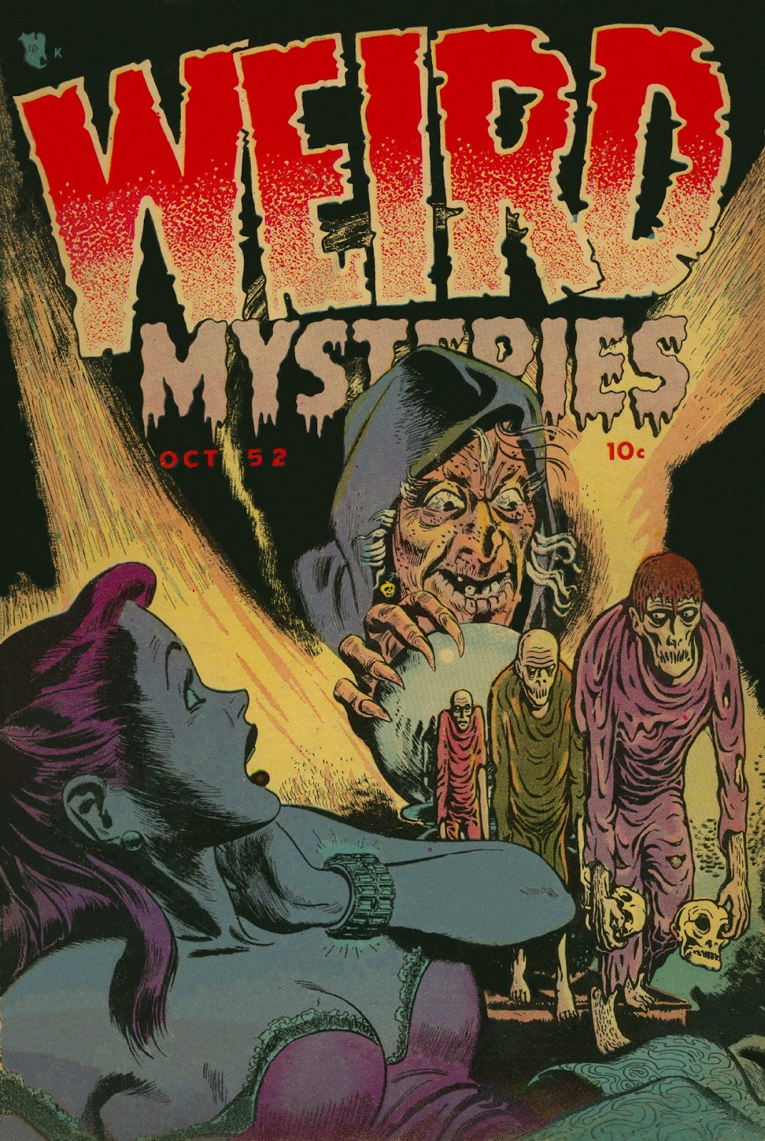 Weird Mysteries (1952) issue 1 - Page 1