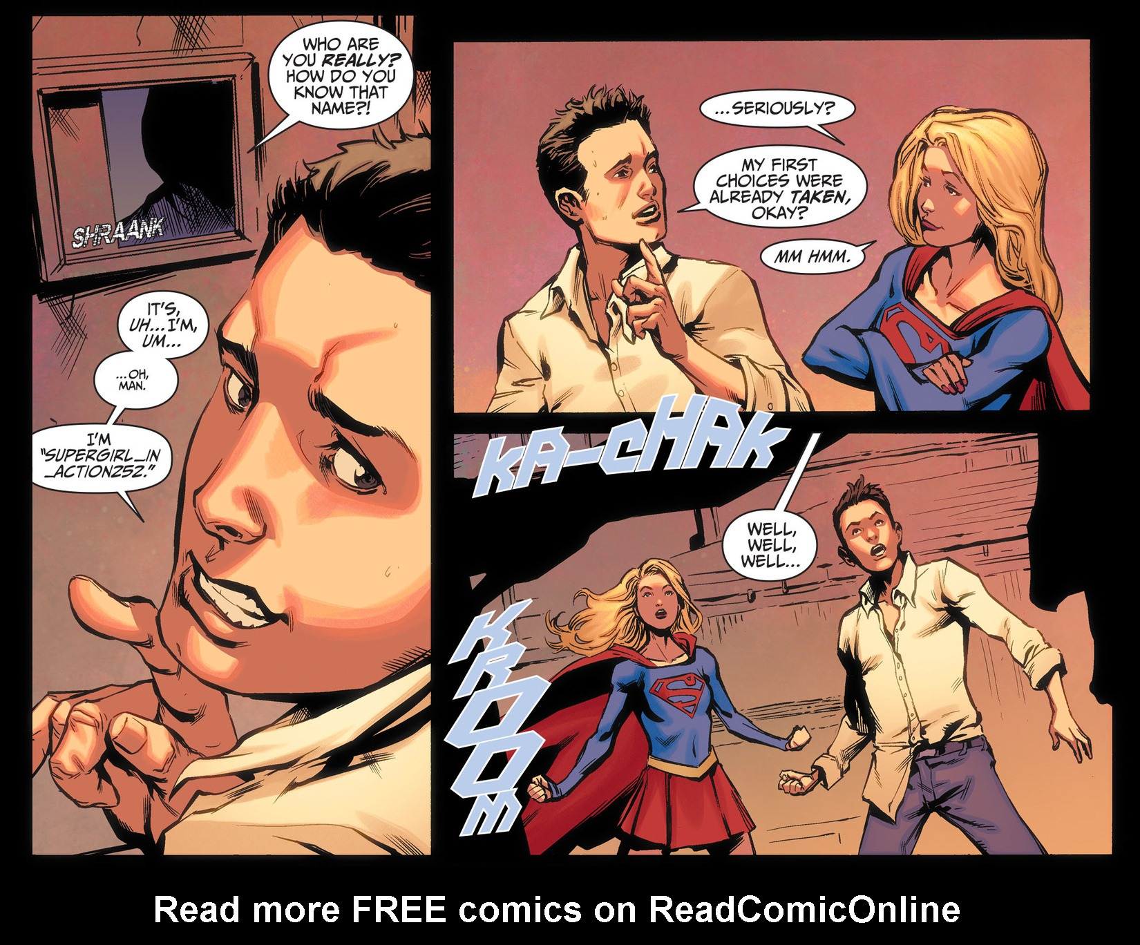 Read online Adventures of Supergirl comic -  Issue #5 - 5