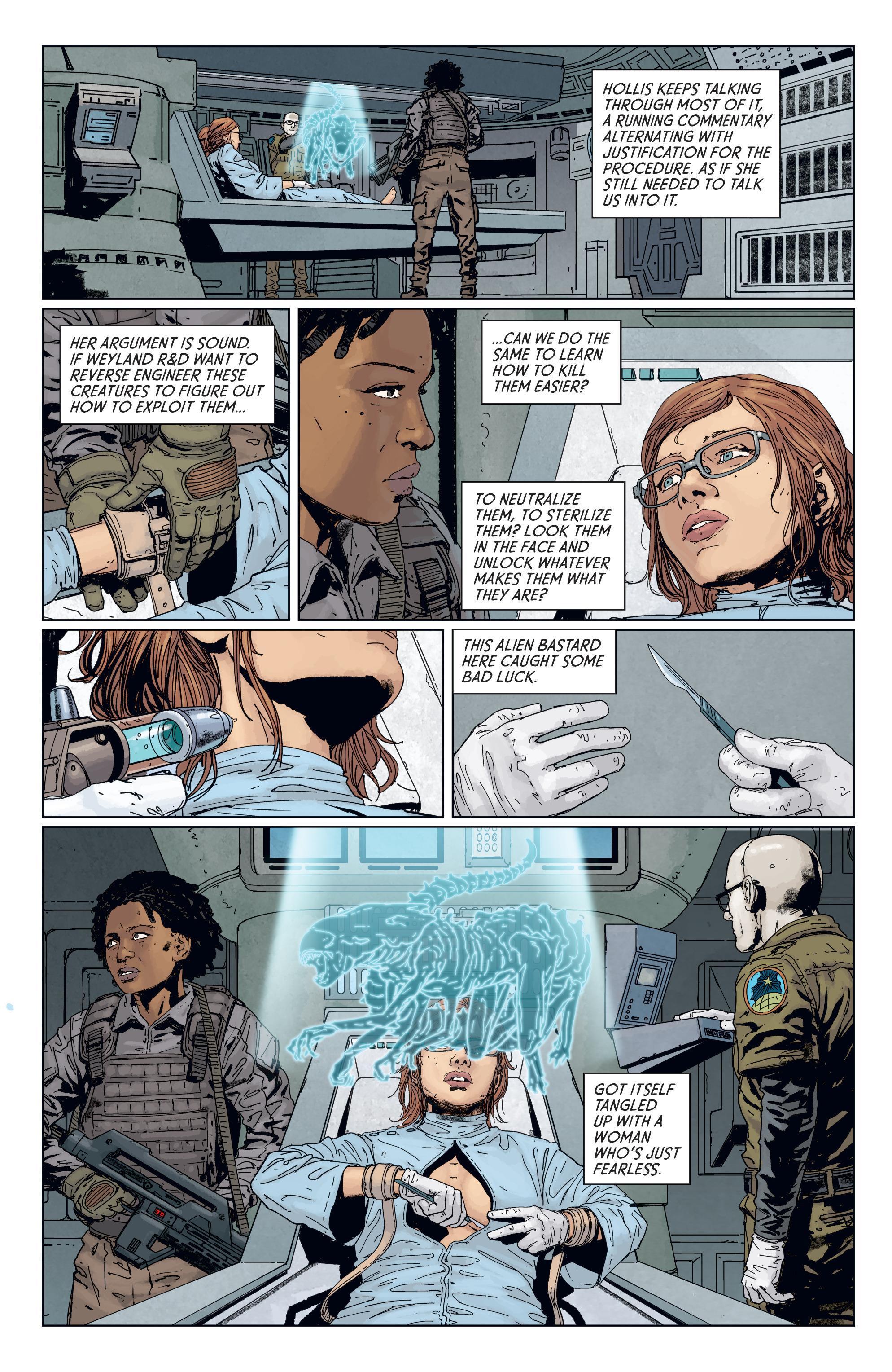 Read online Aliens: Defiance comic -  Issue #7 - 11