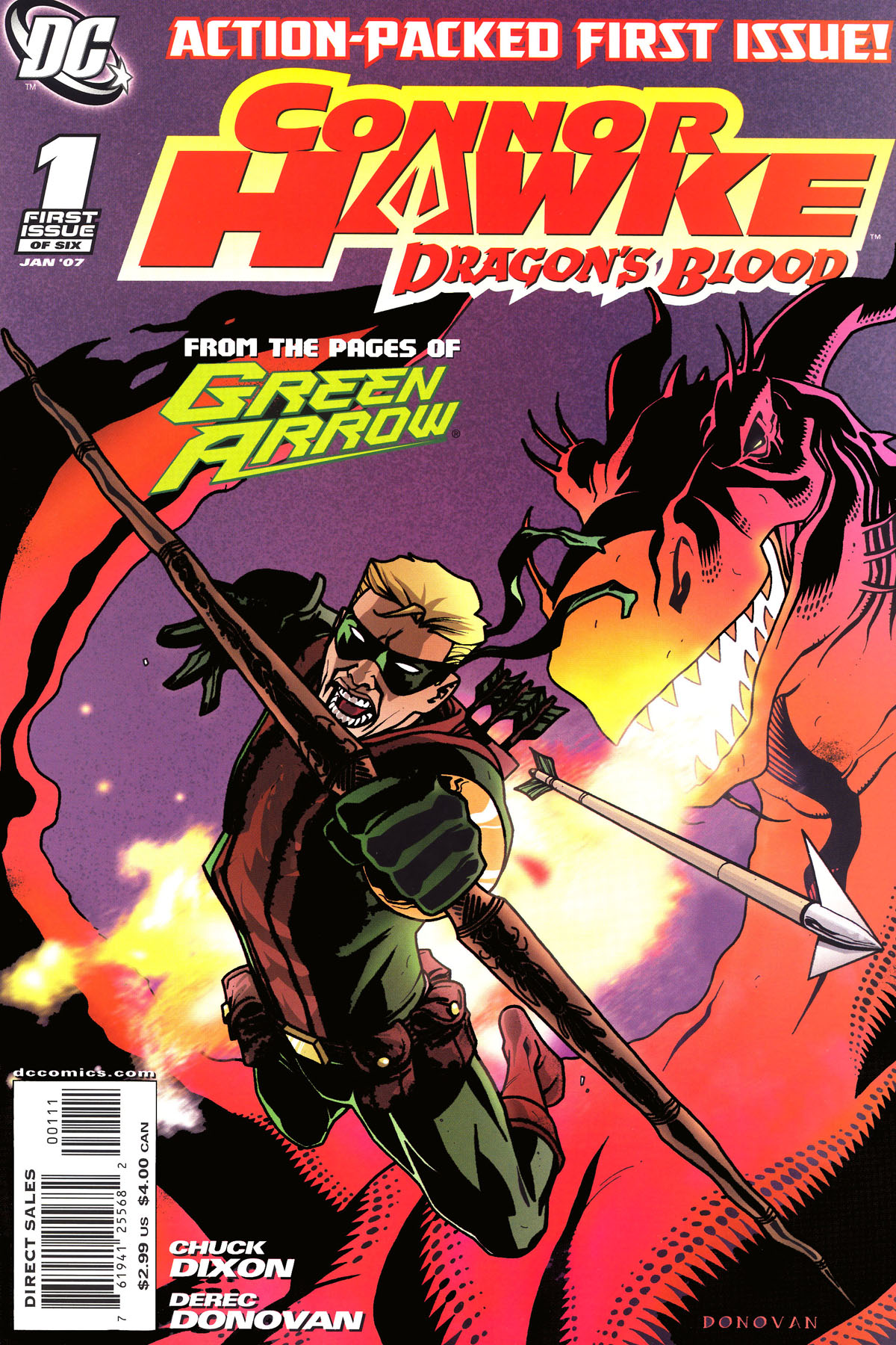 Read online Connor Hawke:  Dragon's Blood comic -  Issue #1 - 1