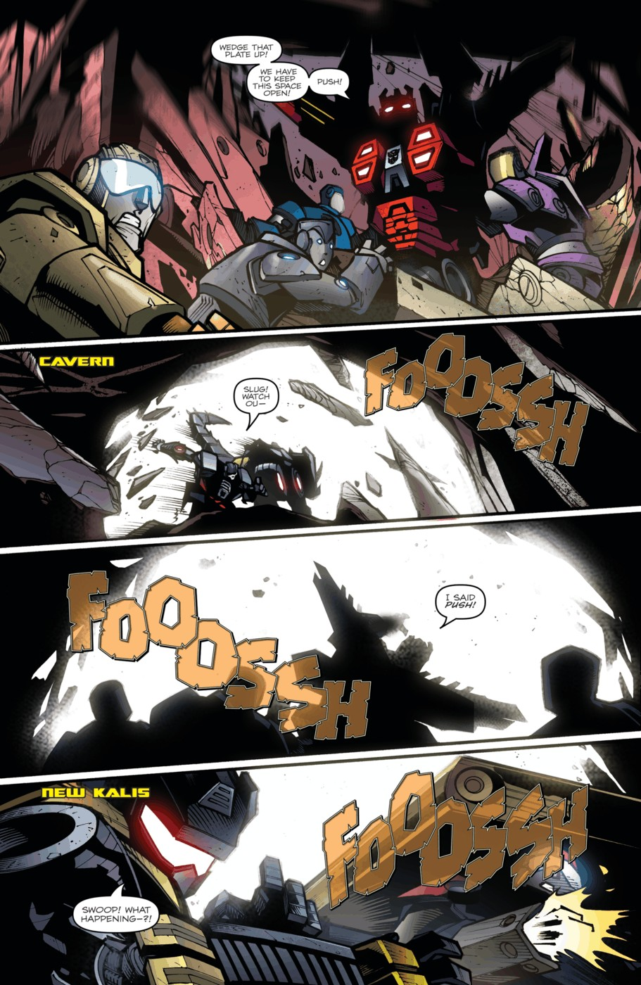 Read online Transformers Prime: Beast Hunters comic -  Issue #5 - 8