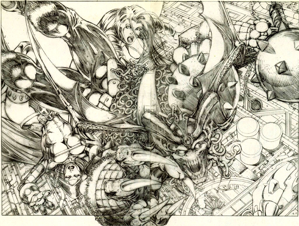 Read online Avengelyne (1996) comic -  Issue #7 - 19