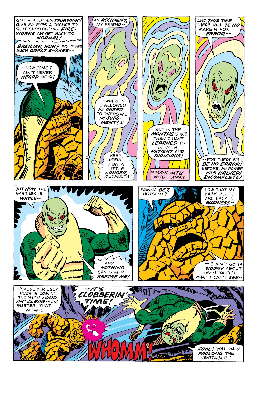 Read online Marvel Two-In-One Epic Collection: Cry Monster comic -  Issue # TPB (Part 4) - 57