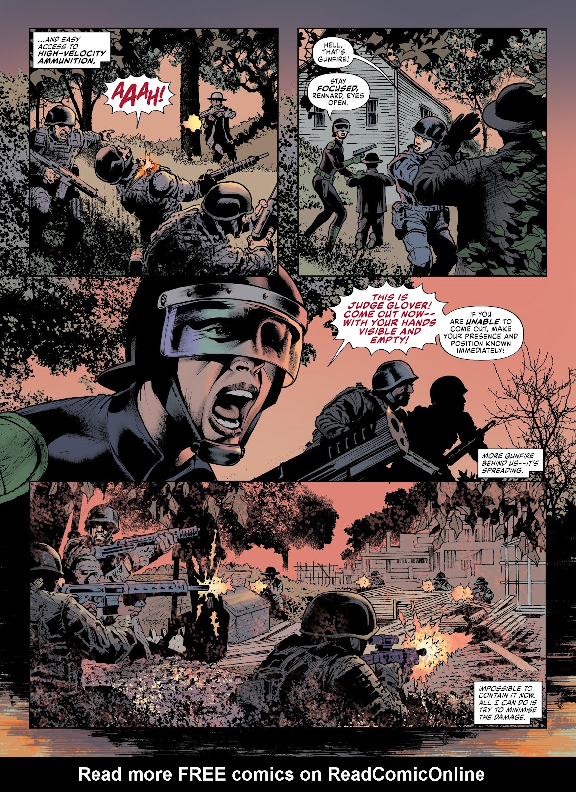Judge Dredd Megazine (Vol. 5) issue 427 - Page 38