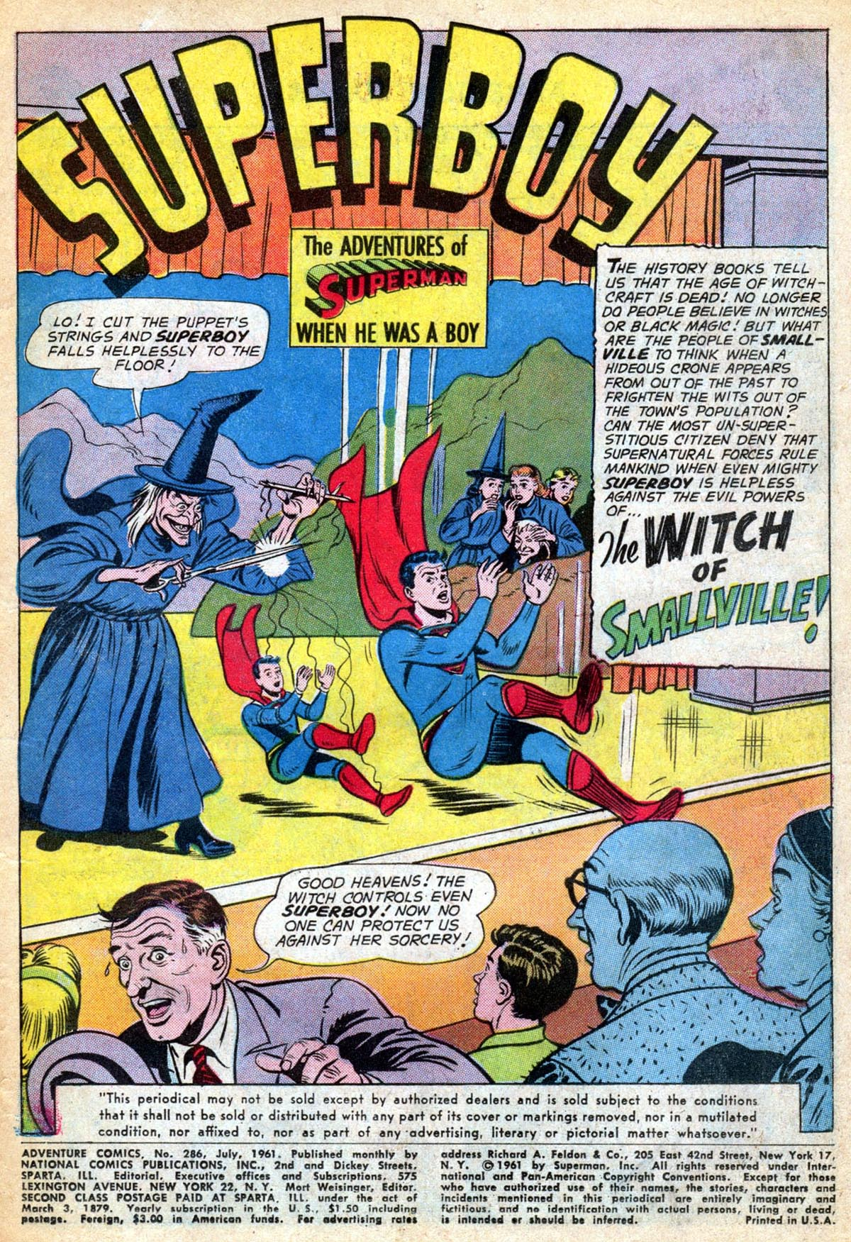 Read online Adventure Comics (1938) comic -  Issue #286 - 3