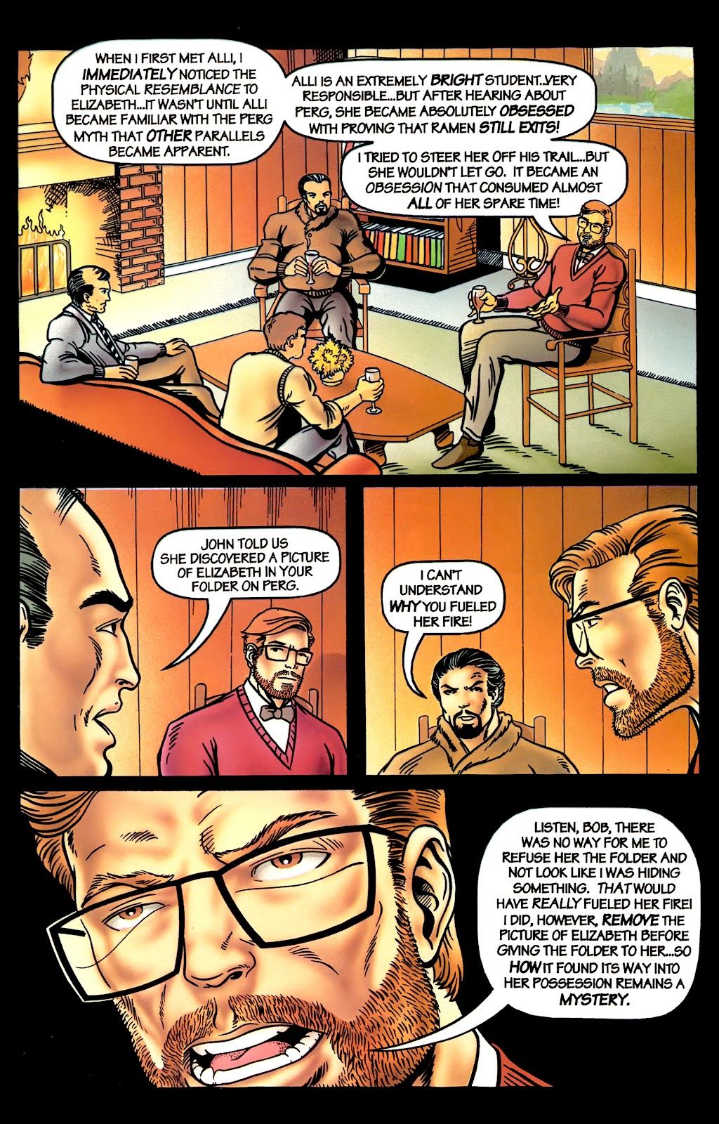 Read online Perg comic -  Issue #4 - 19
