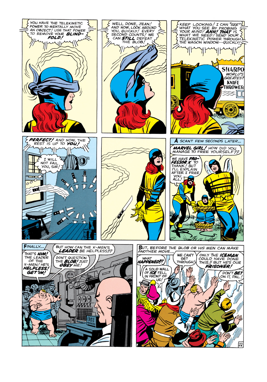Read online Uncanny X-Men (1963) comic -  Issue #3 - 23