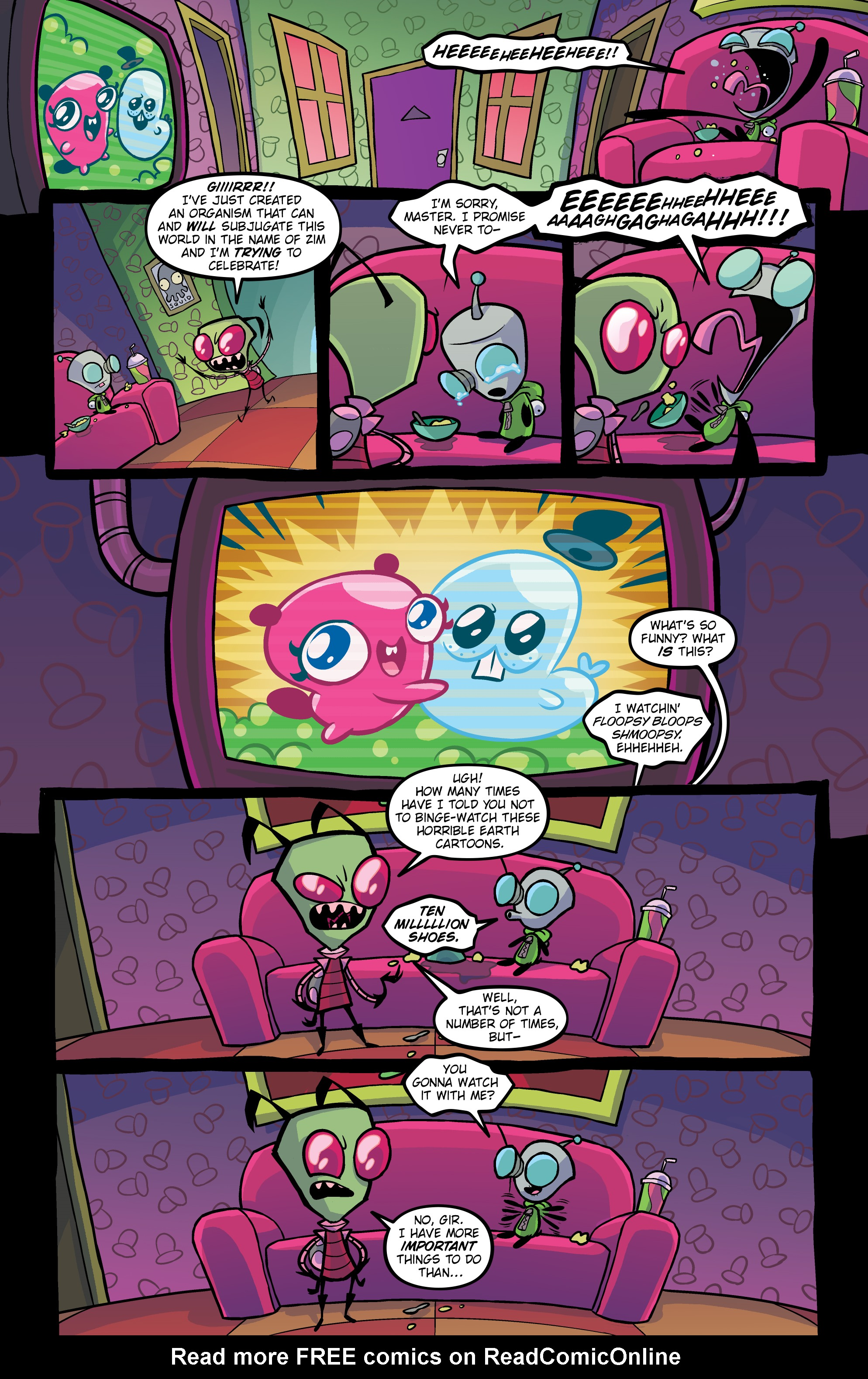 Read online Invader Zim comic -  Issue #20 - 4