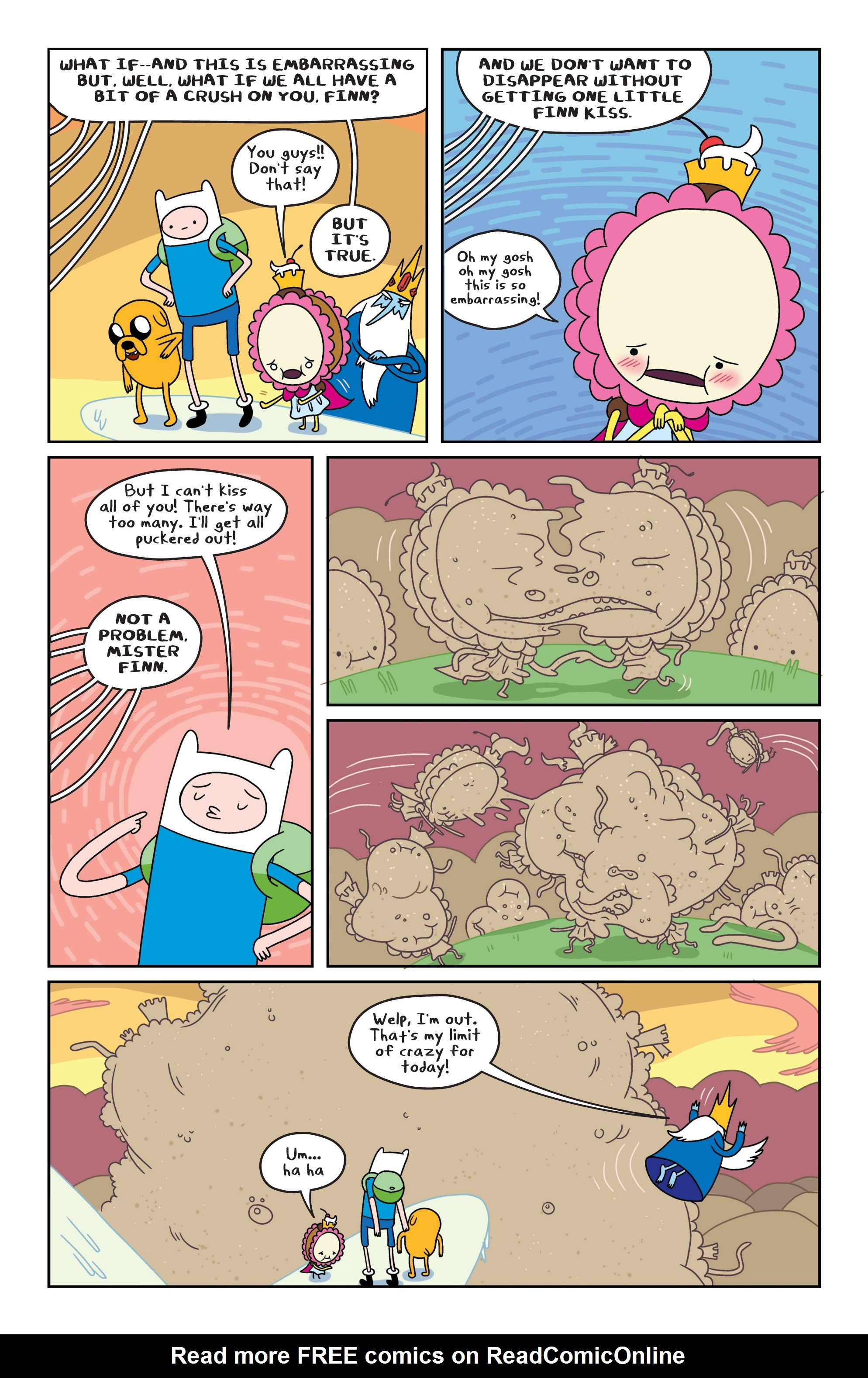 Read online Adventure Time comic -  Issue #4 - 15