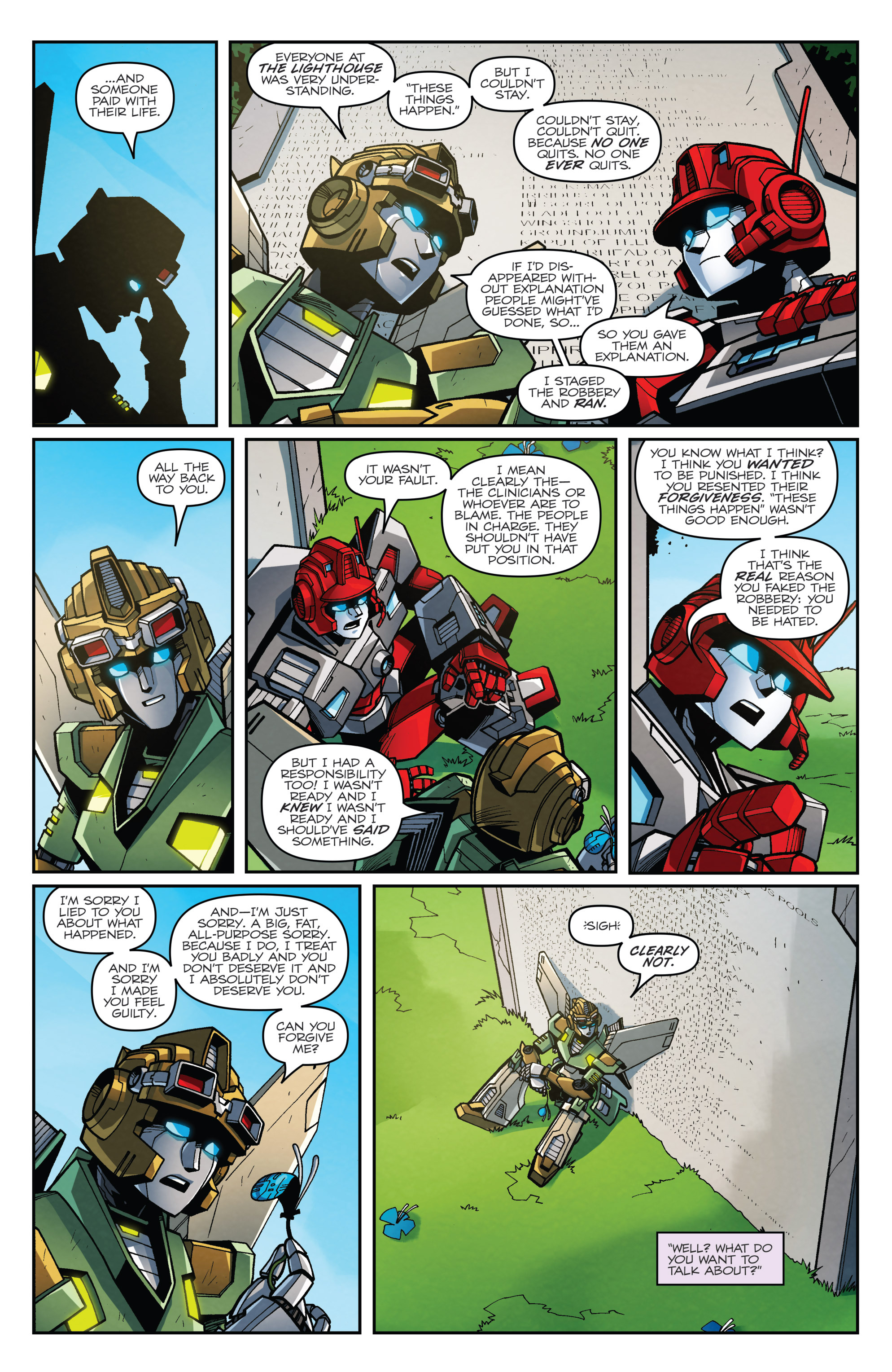 Read online Transformers: Lost Light comic -  Issue #4 - 13
