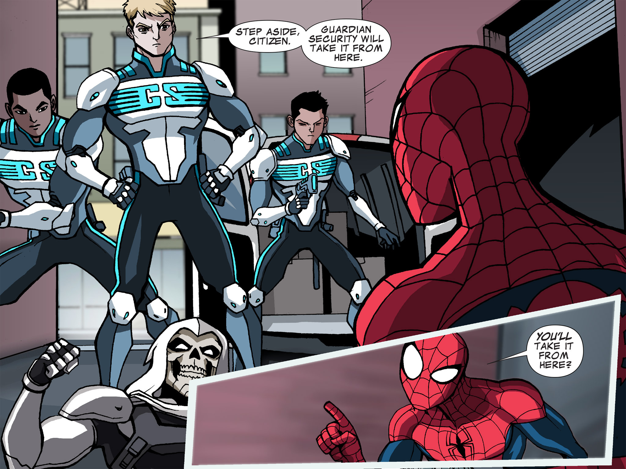 Read online Ultimate Spider-Man (Infinite Comics) (2015) comic -  Issue #15 - 33