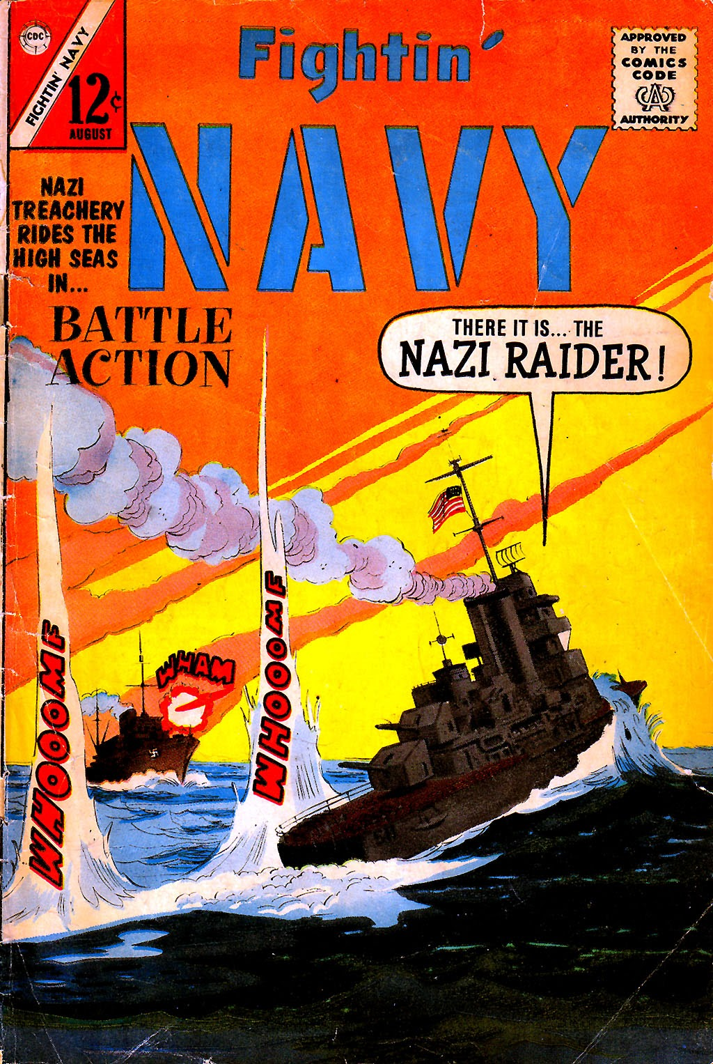 Read online Fightin' Navy comic -  Issue #111 - 1