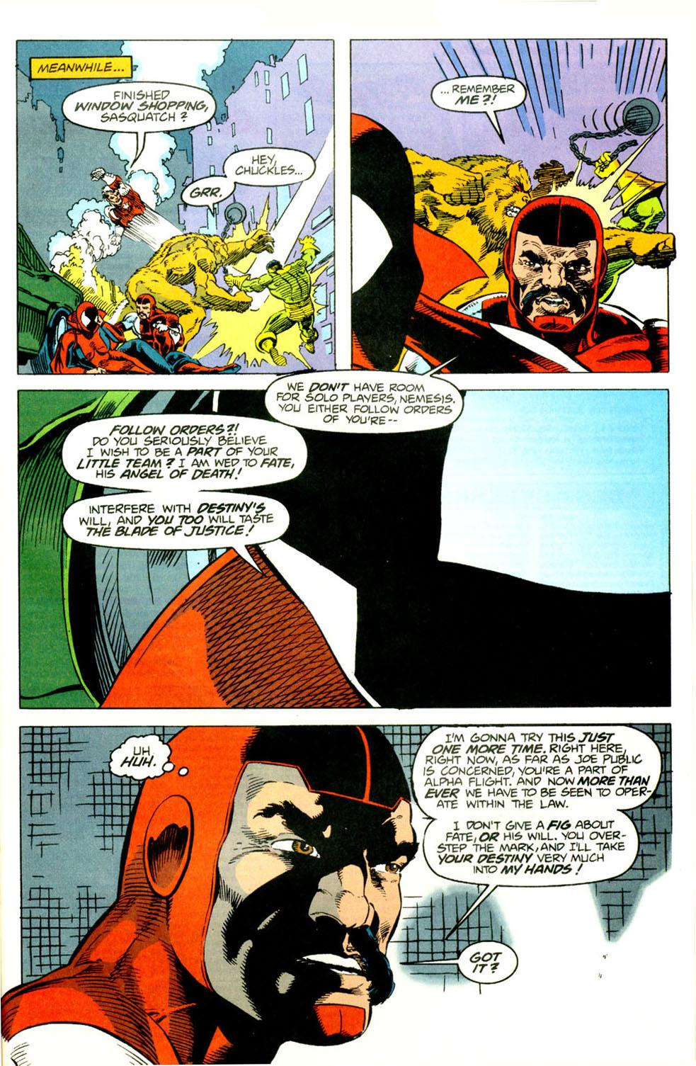 Read online Alpha Flight (1983) comic -  Issue #118 - 22