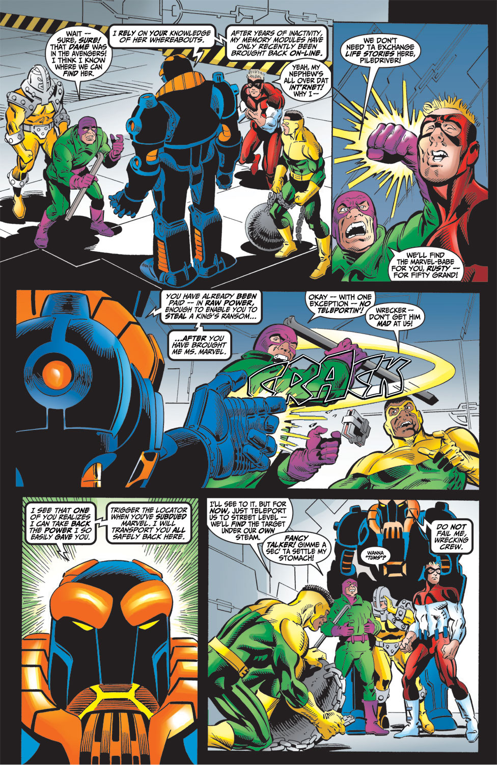 Read online Avengers (1998) comic -  Issue #16 - 4