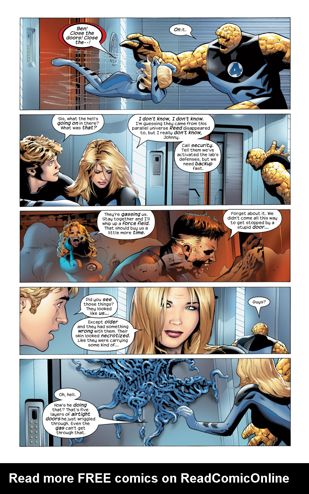 Read online Ultimate Fantastic Four (2004) comic -  Issue #23 - 4
