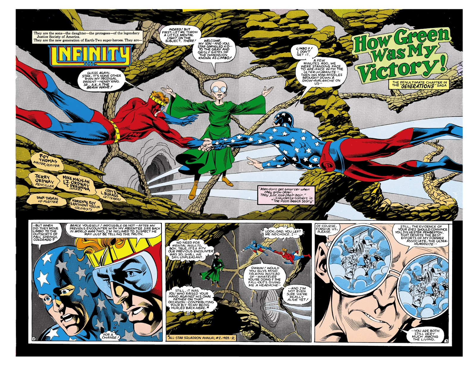 Infinity Inc. (1984) issue 9 - Page 3