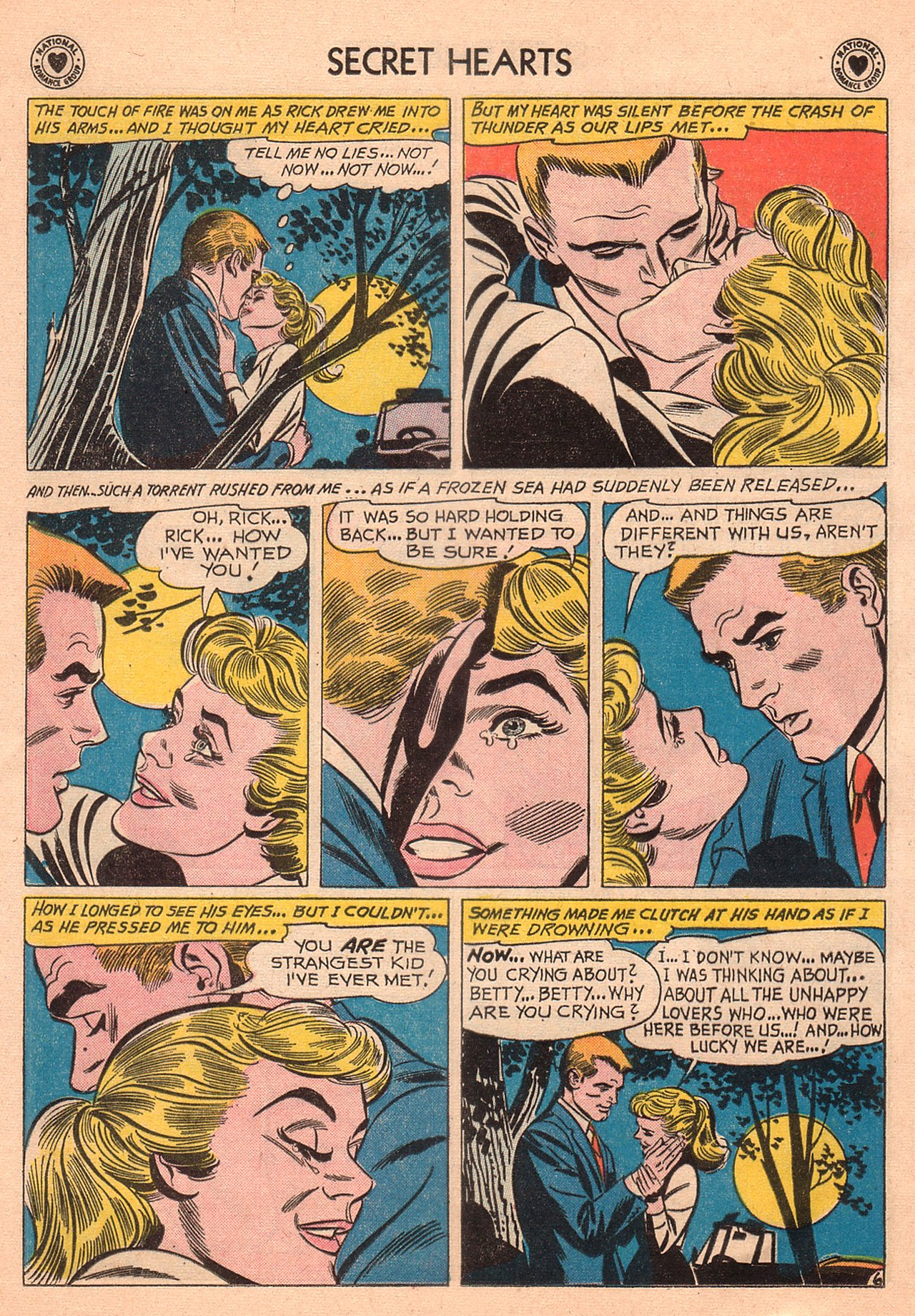 Read online Secret Hearts comic -  Issue #74 - 32
