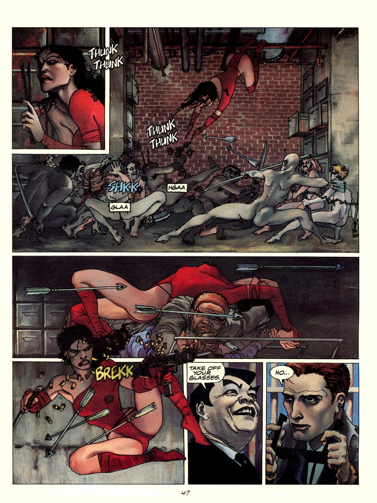 Elektra Lives Again issue Full - Page 54