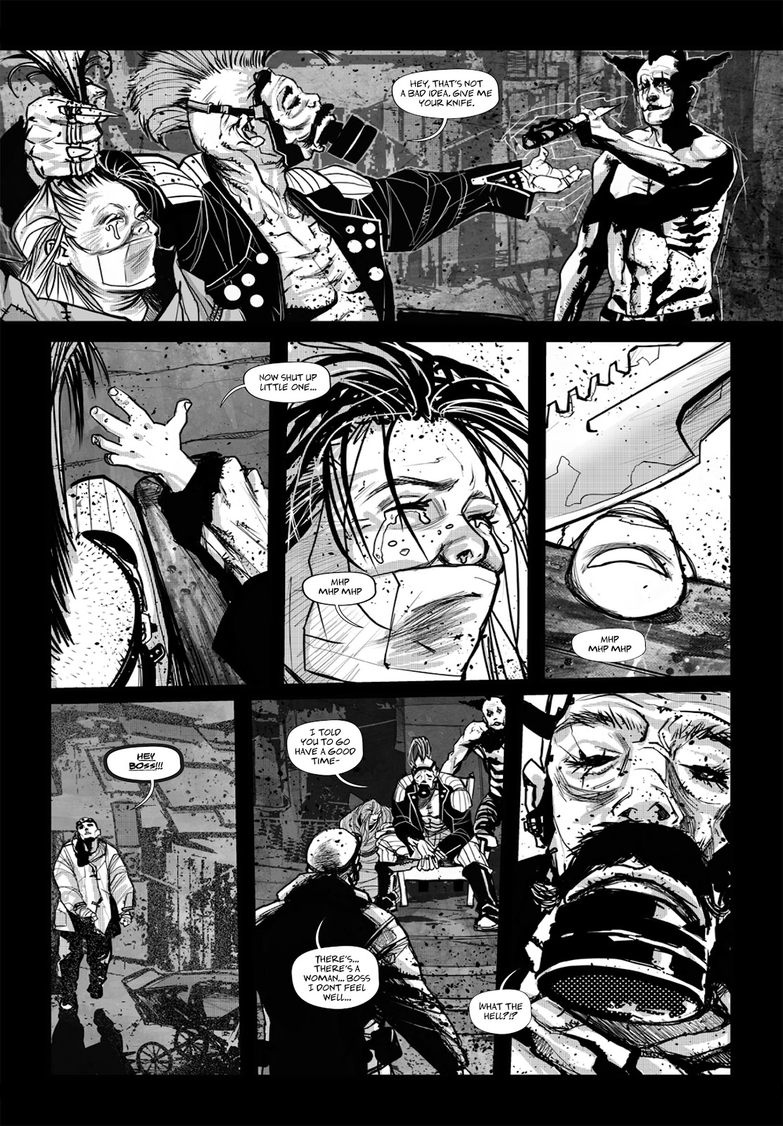 Read online Wrath of God comic -  Issue # _TPB - 84