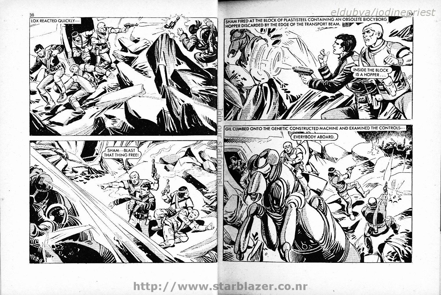 Starblazer issue 101 - Page 21