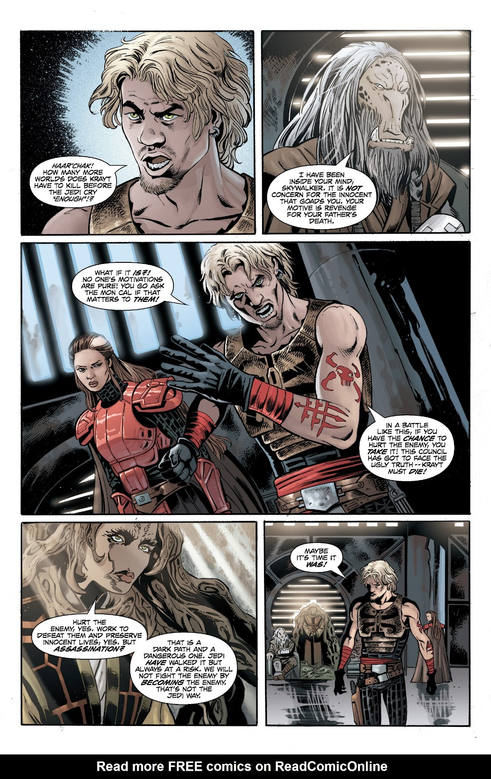 Read online Star Wars Legends: Legacy - Epic Collection comic -  Issue # TPB 2 (Part 2) - 93