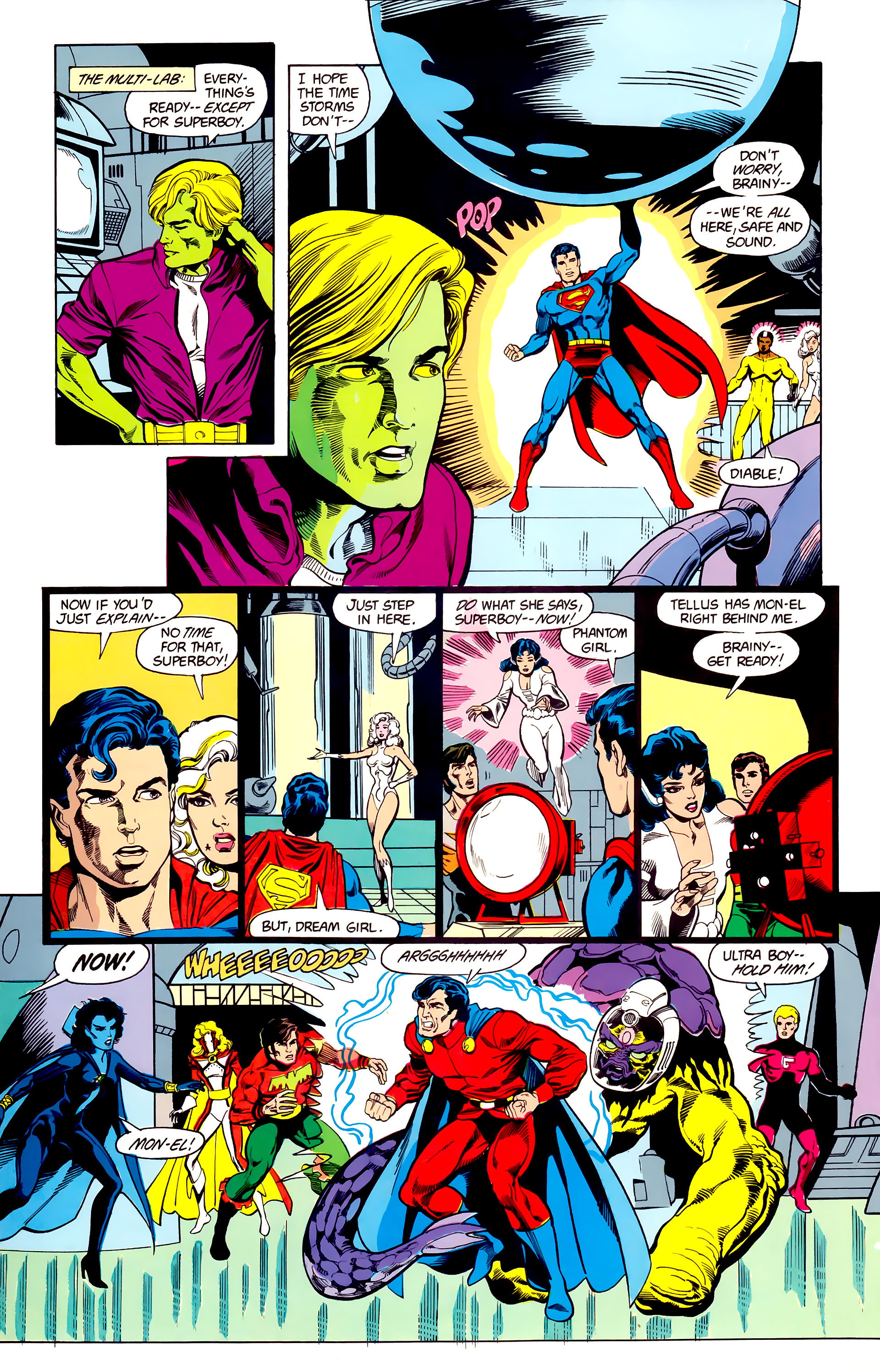 Legion of Super-Heroes (1984) 23 Page 27