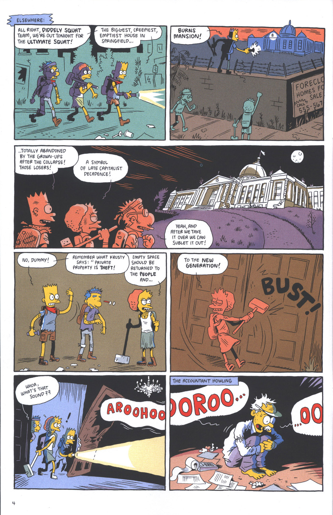 Read online Treehouse of Horror comic -  Issue #15 - 7