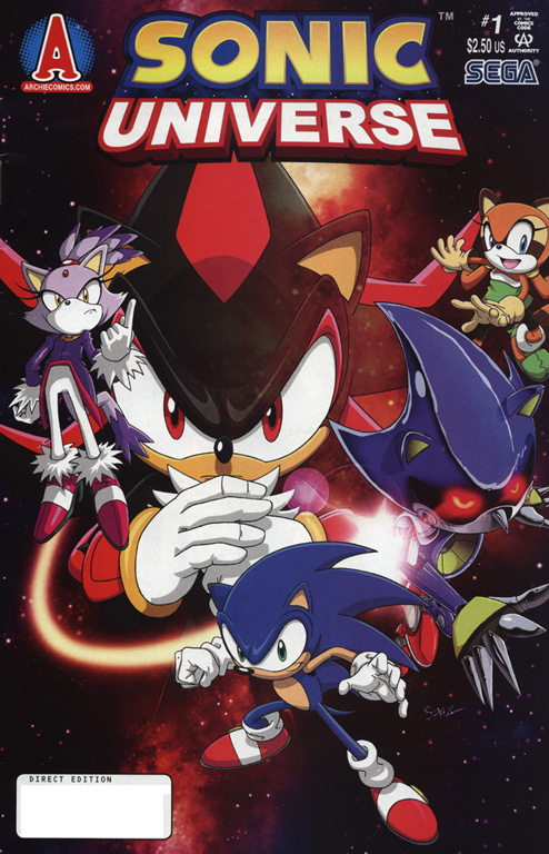 Read online Sonic Universe comic -  Issue #1 - 1