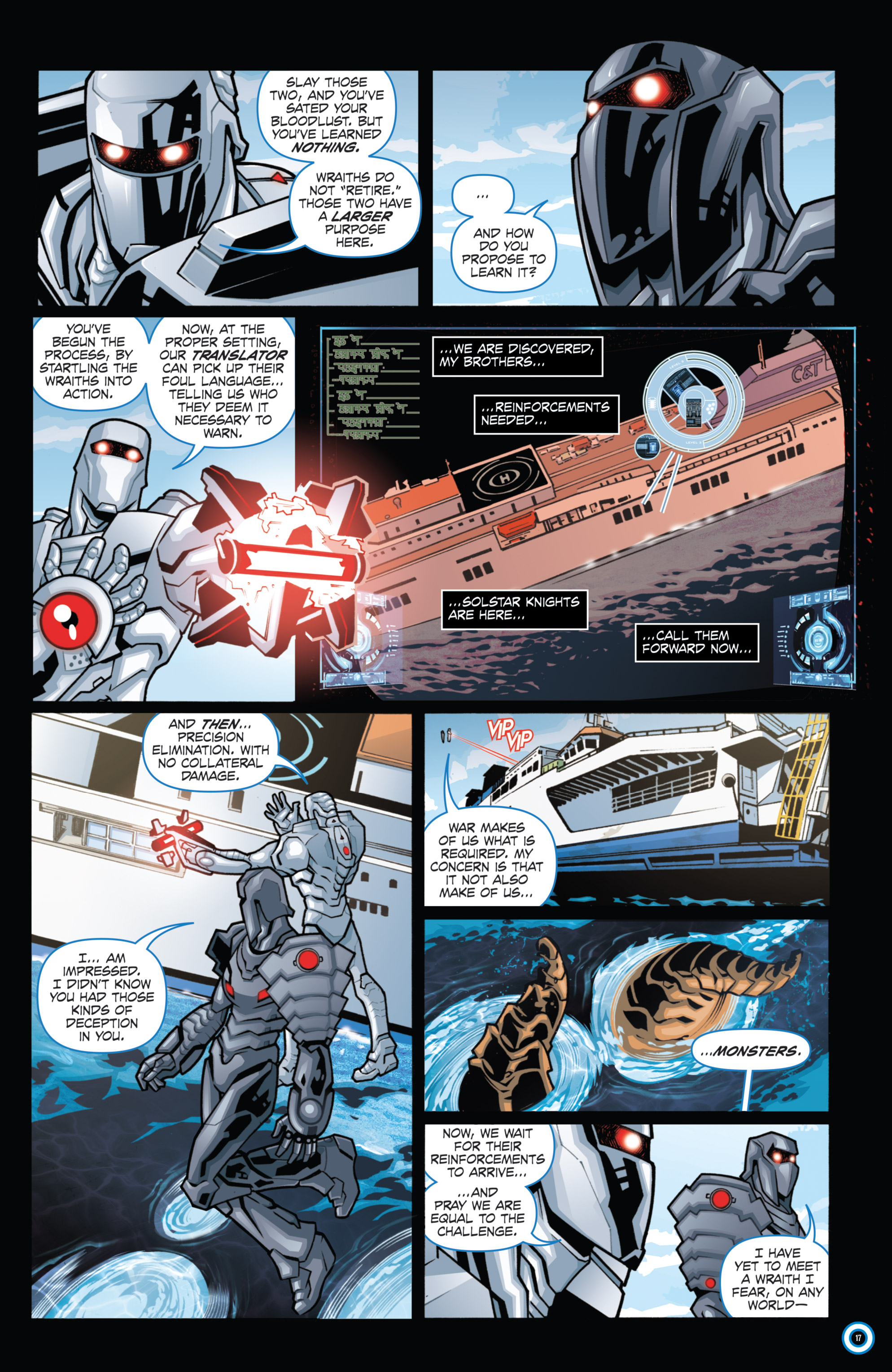 Read online ROM (2016) comic -  Issue #11 - 19