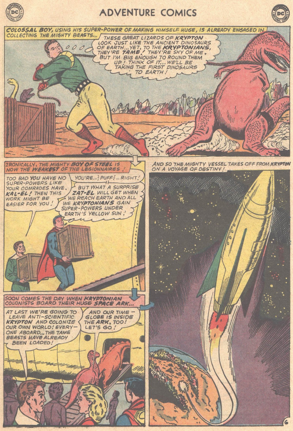 Read online Adventure Comics (1938) comic -  Issue #333 - 7