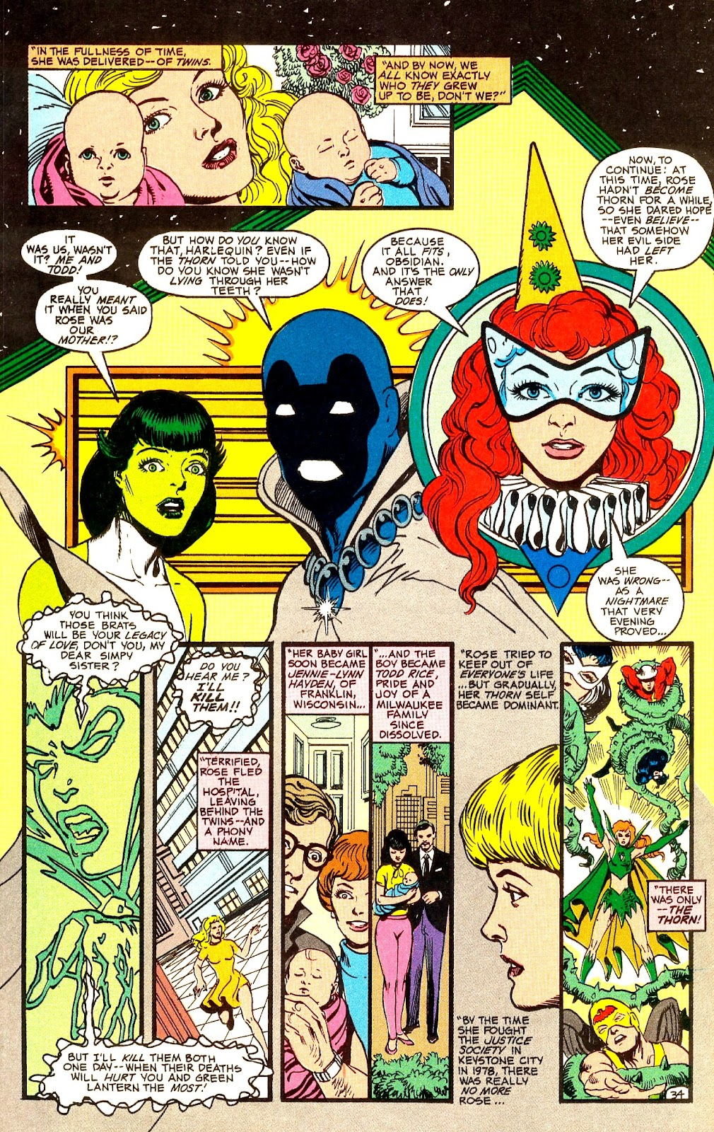 Infinity Inc. (1984) issue Annual 1 - Page 40