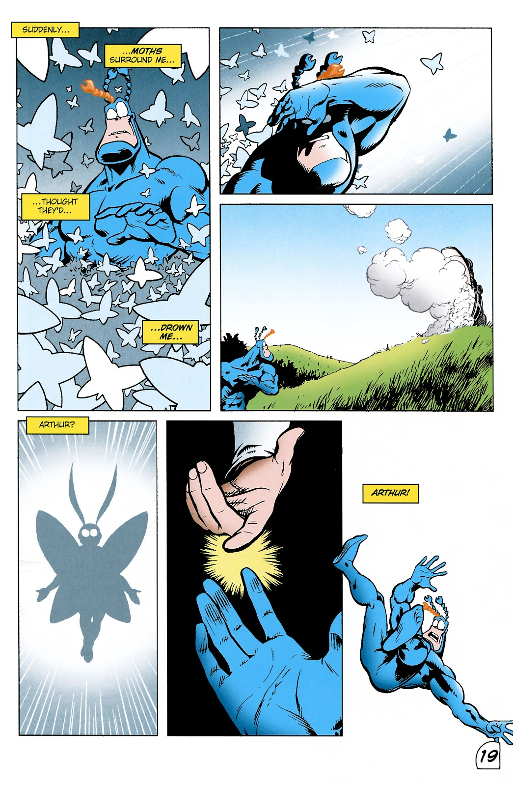 Read online The Tick comic -  Issue #101 - 22