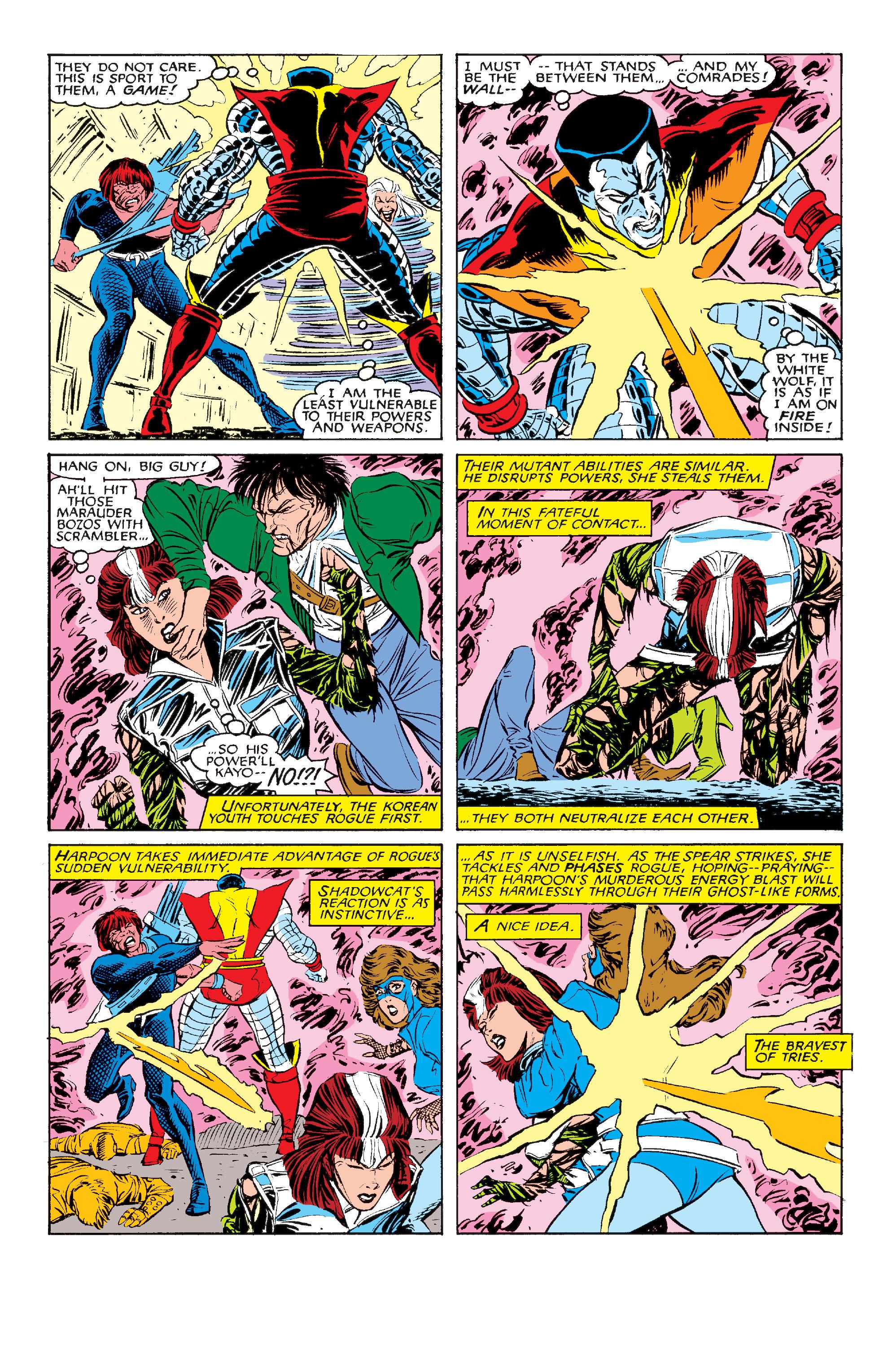 Read online Uncanny X-Men (1963) comic -  Issue #211 - 21