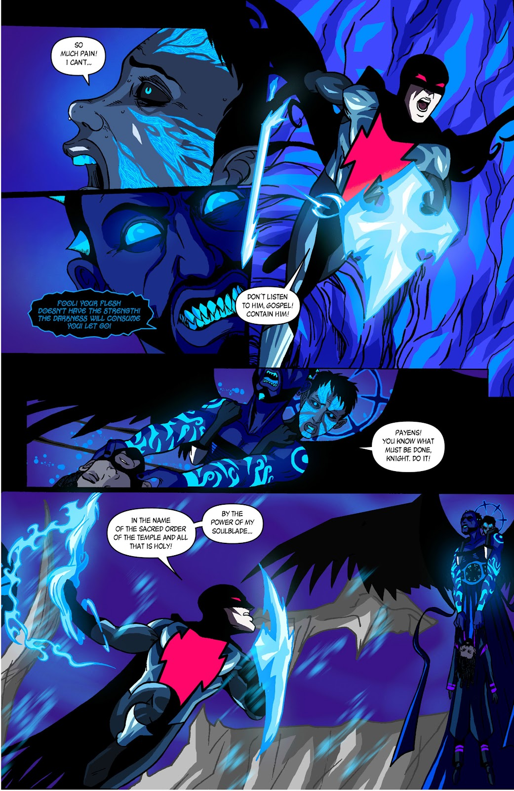 Sentinels issue 3 - Page 21