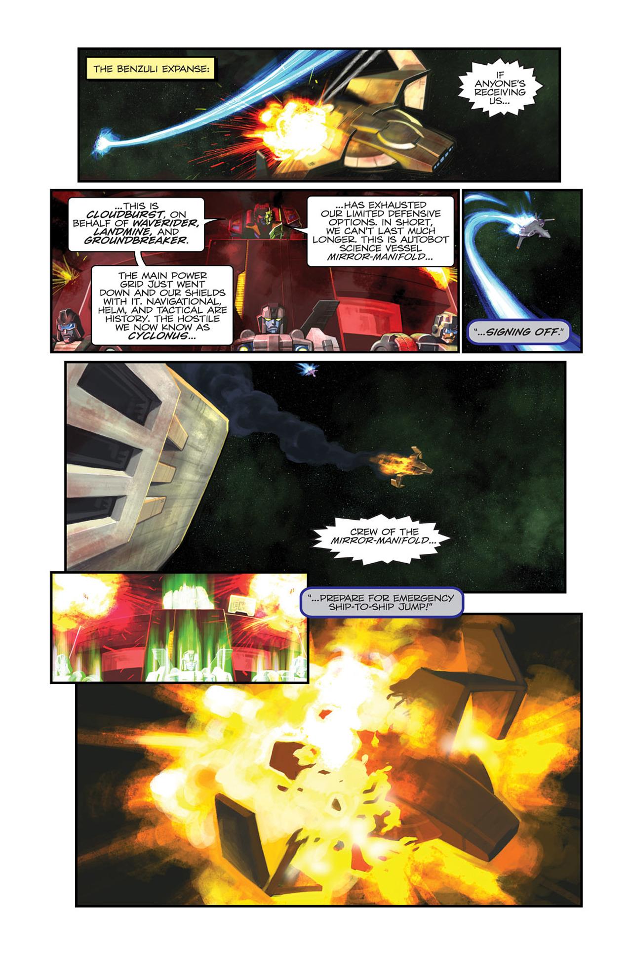 Read online Transformers Spotlight: Sideswipe comic -  Issue # Full - 9
